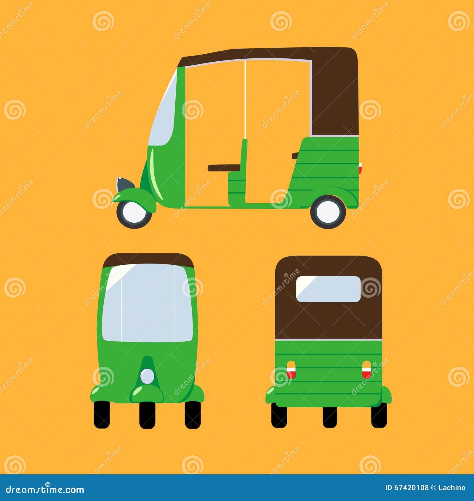 indian transport vector illustration download illustration