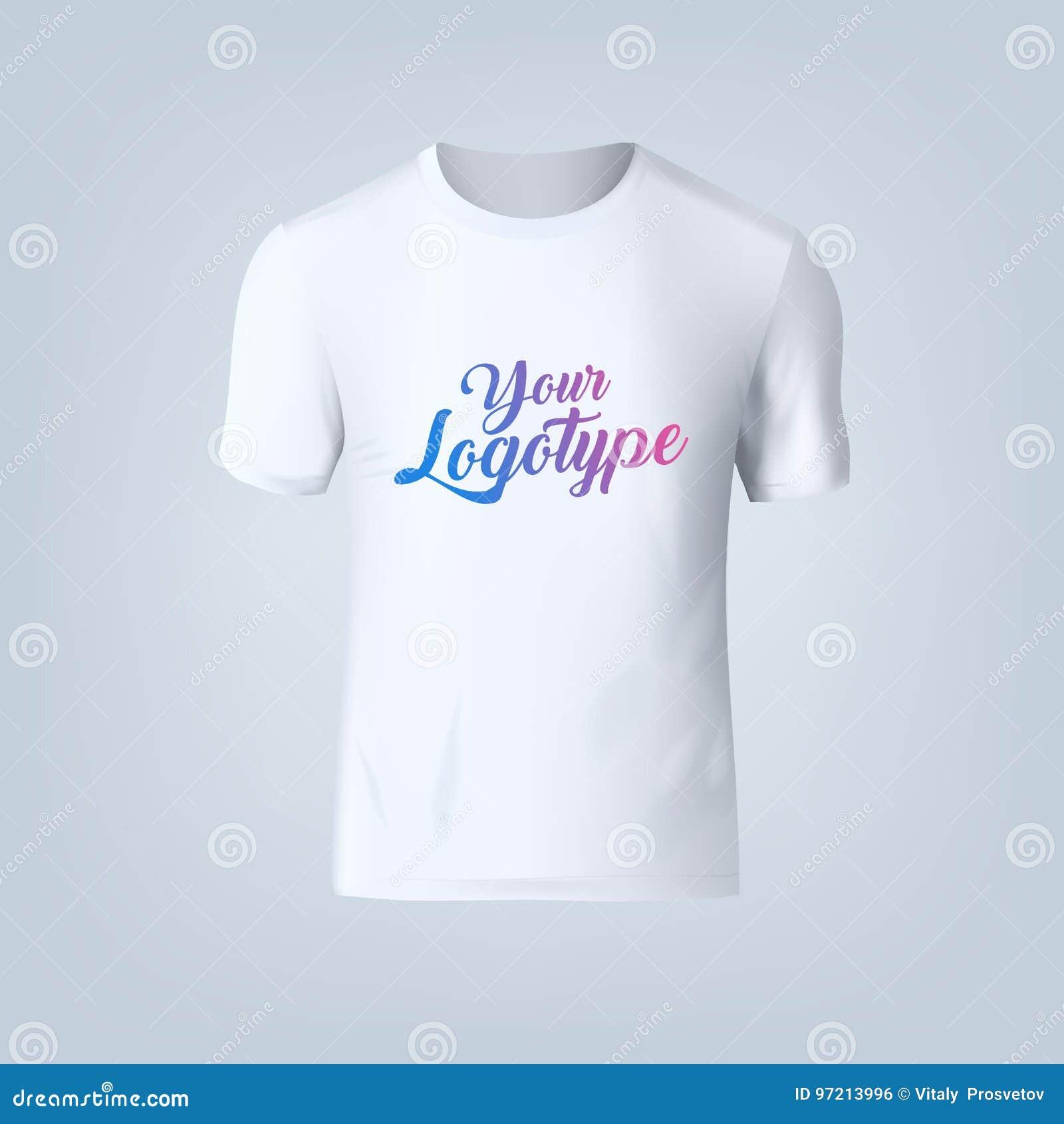 Vector Illustration Of Blank T Shirt Template Stock Illustration