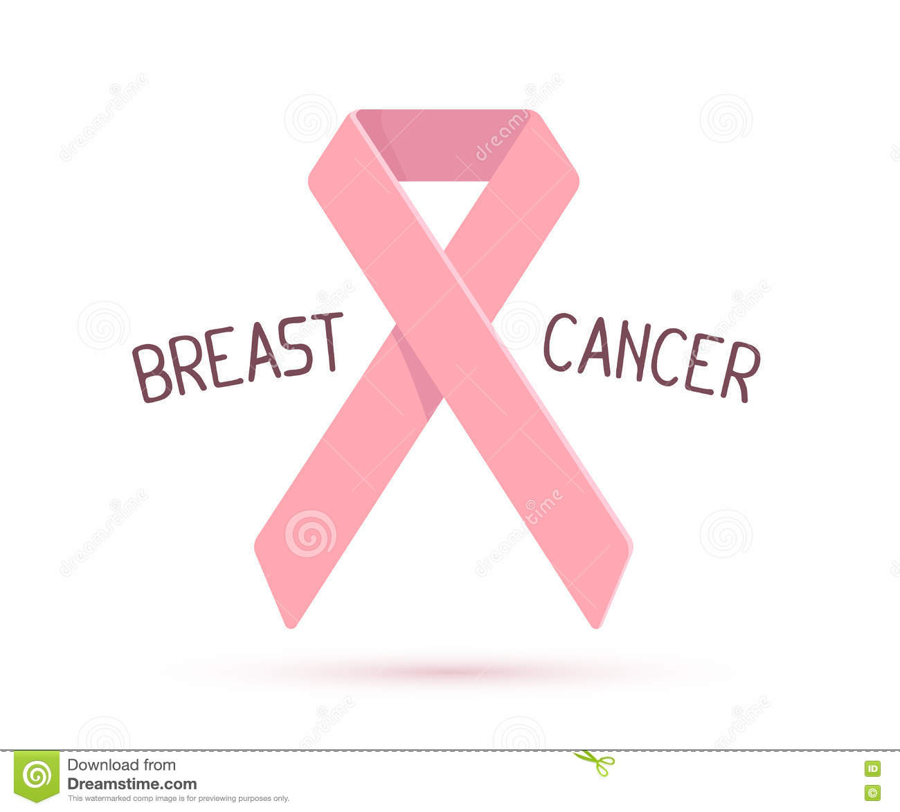 Vector illustration for breast cancer awareness month with pink royalty free stock photo biocorpaavc Image collections