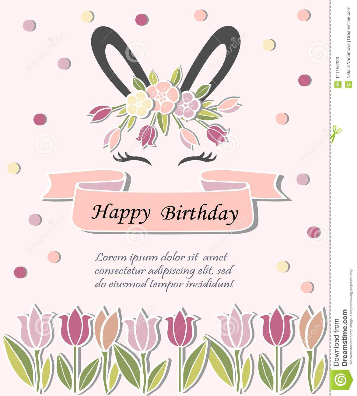 Template For Baby Birthday Easter Day Party Invitation Greeting