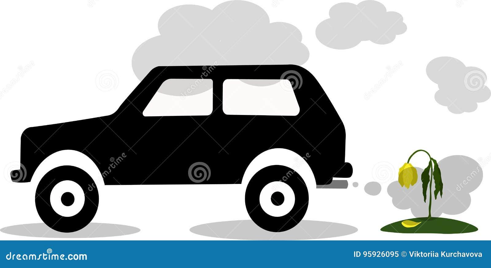 CO2 emission vector line icon. Clipart   k55650014   Fotosearch
