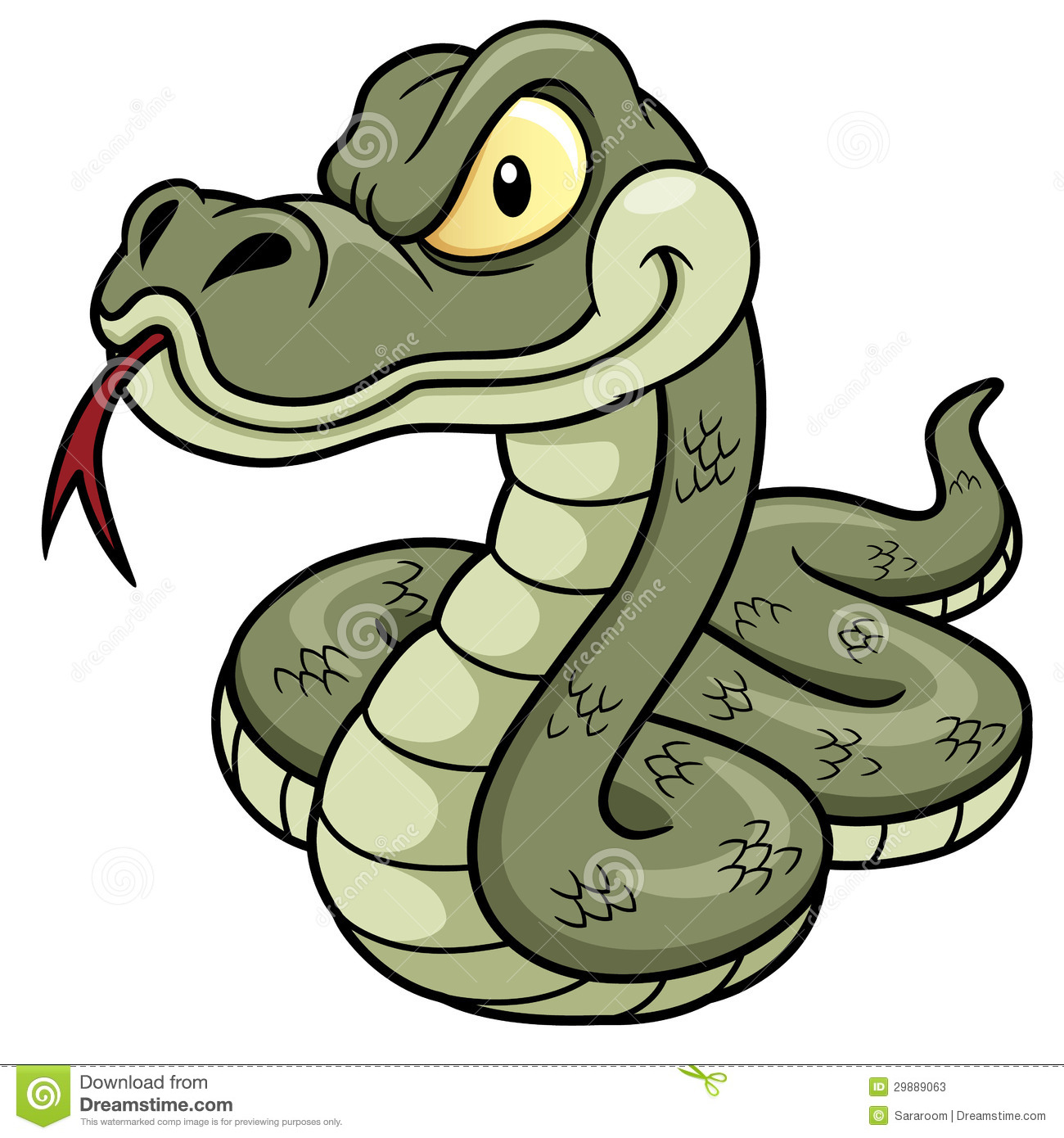 Cartoon Snake Stock Photos - Image: 29889063