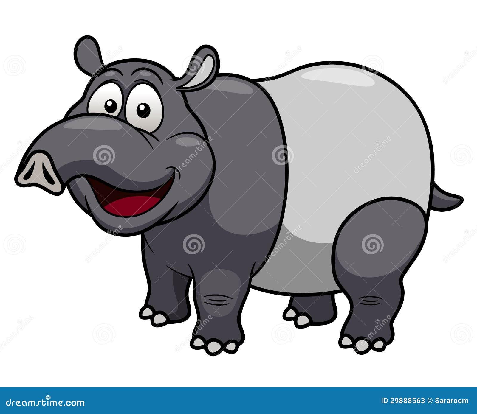 Cartoon Tapir Stock Photos - Image: 29888563