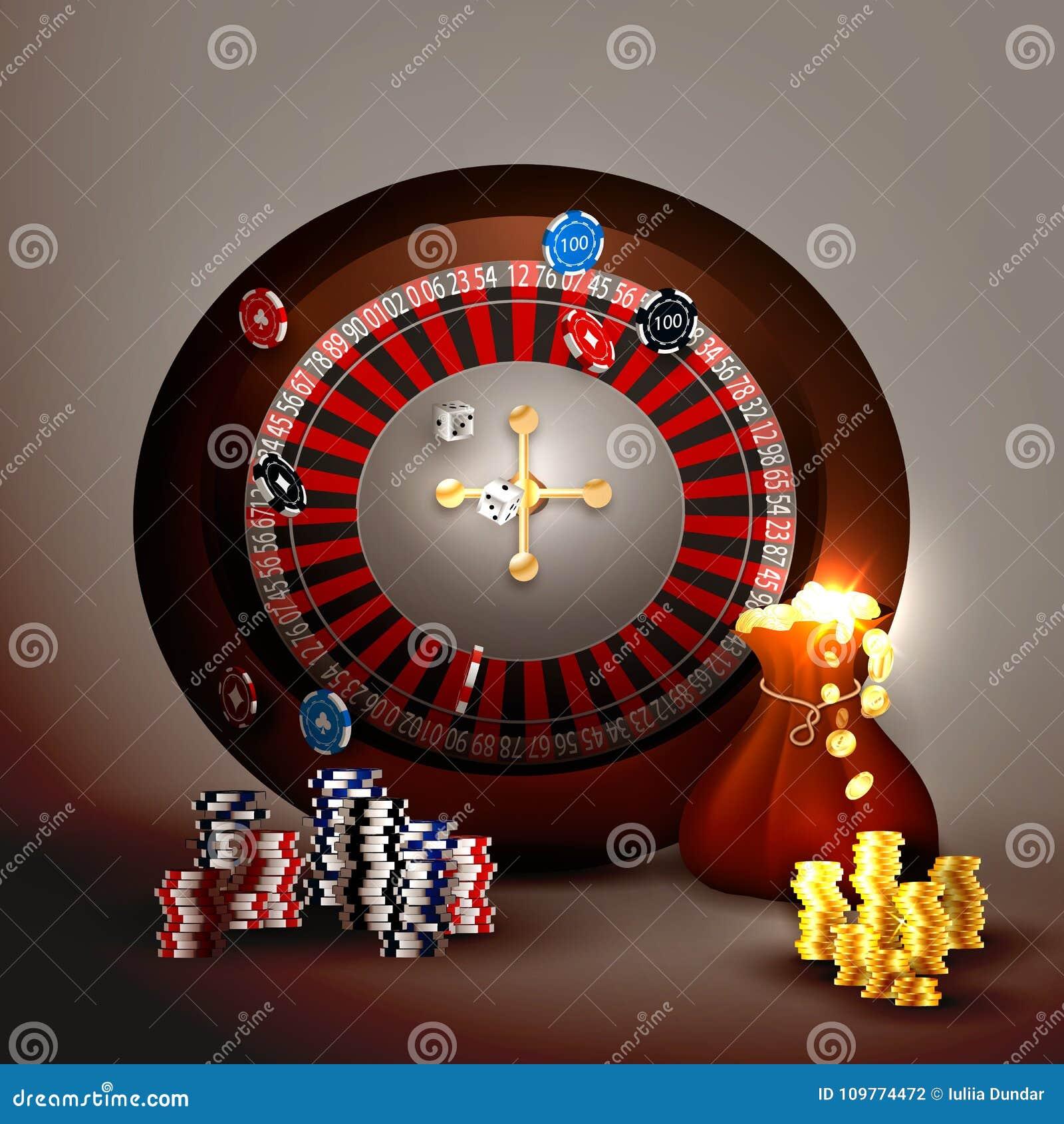 Casino Slot Machine Stock Vector Illustration Of Gamble 109774472
