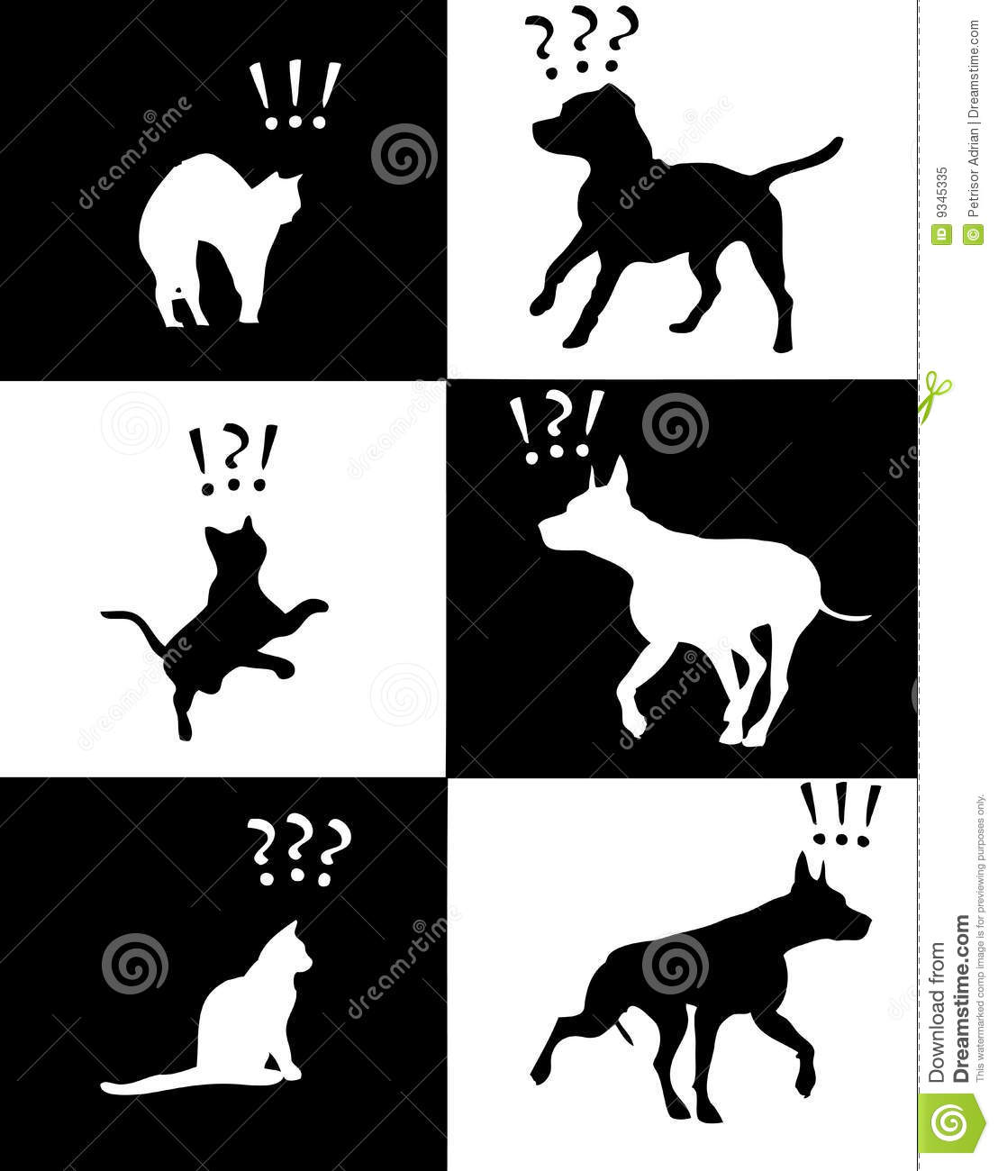 Related to Dog And Cat Cliparts, Stock Vector And Royalty Free Dog