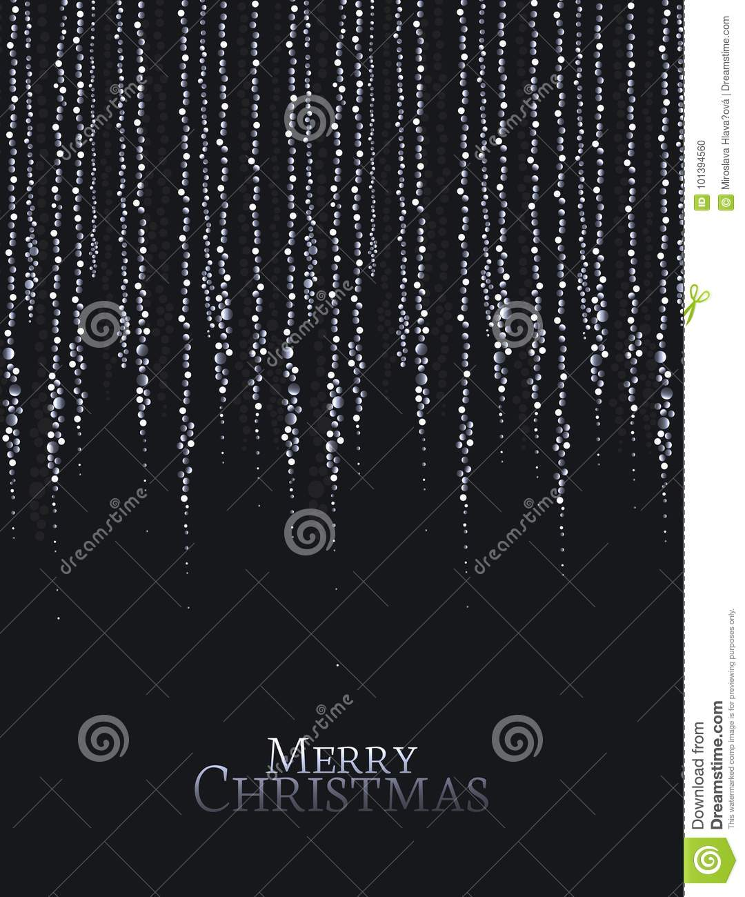 Download Christmas String Lights Stock Vector Illustration Of Glow