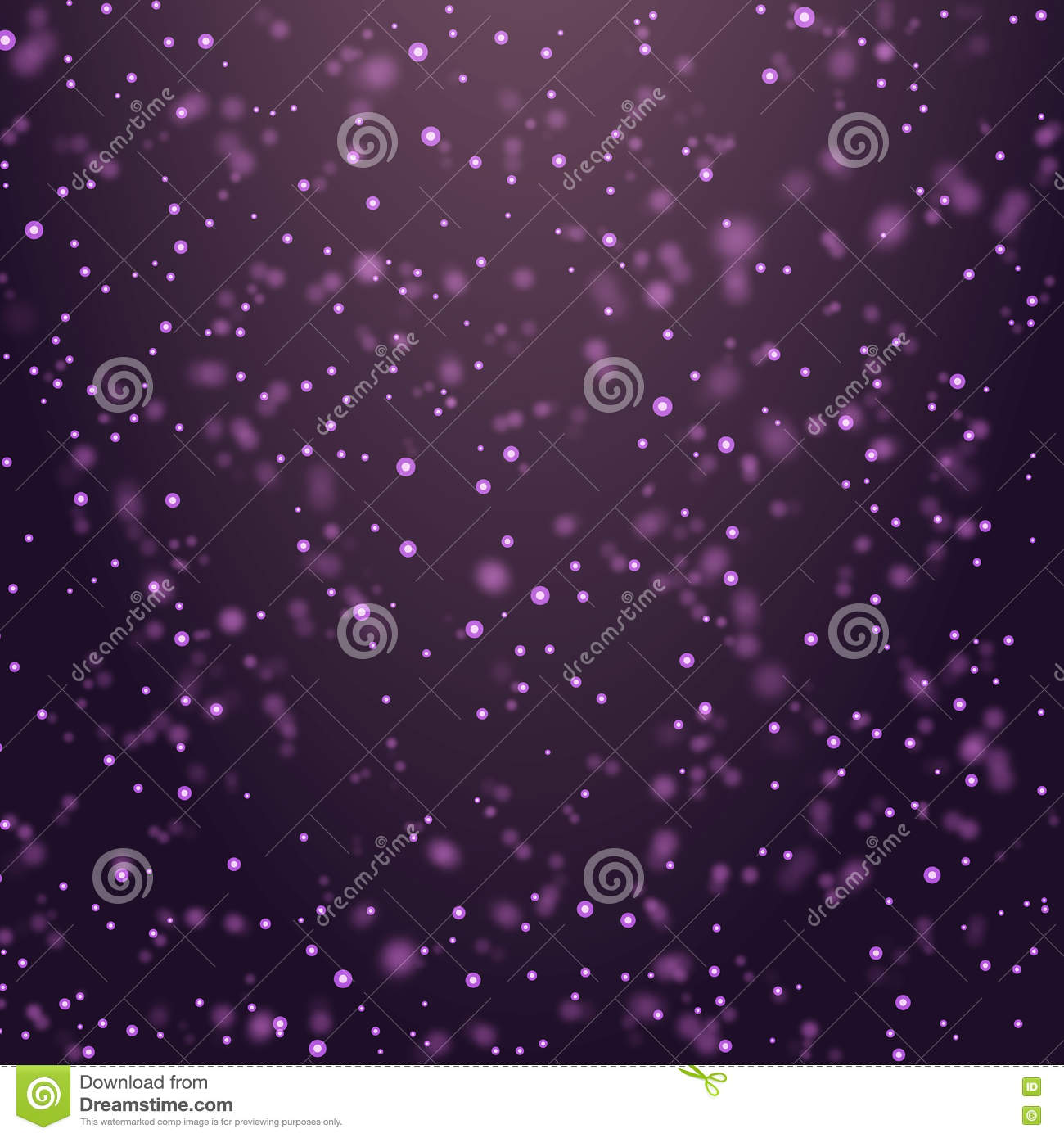 Vector illustration Christmas magic glittering color light card background - new year space shimmering particle fly.