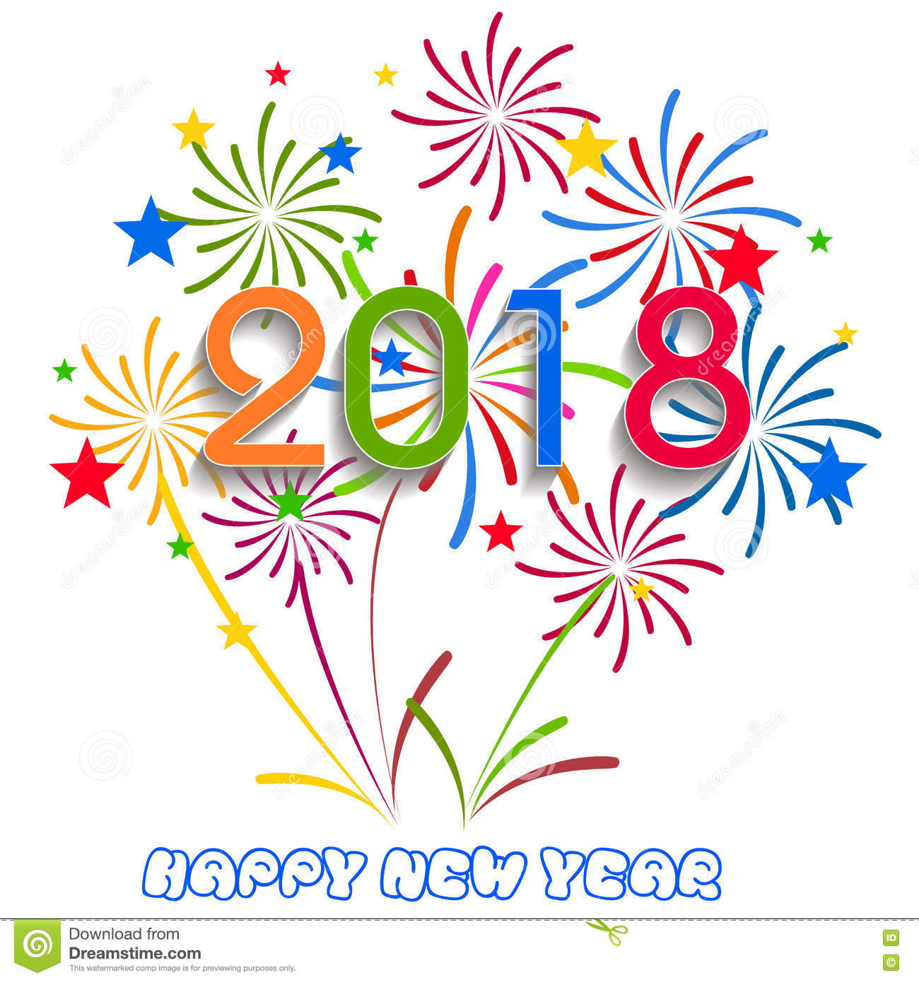 Year new Happy fireworks clipart pictures advise dress for autumn in 2019
