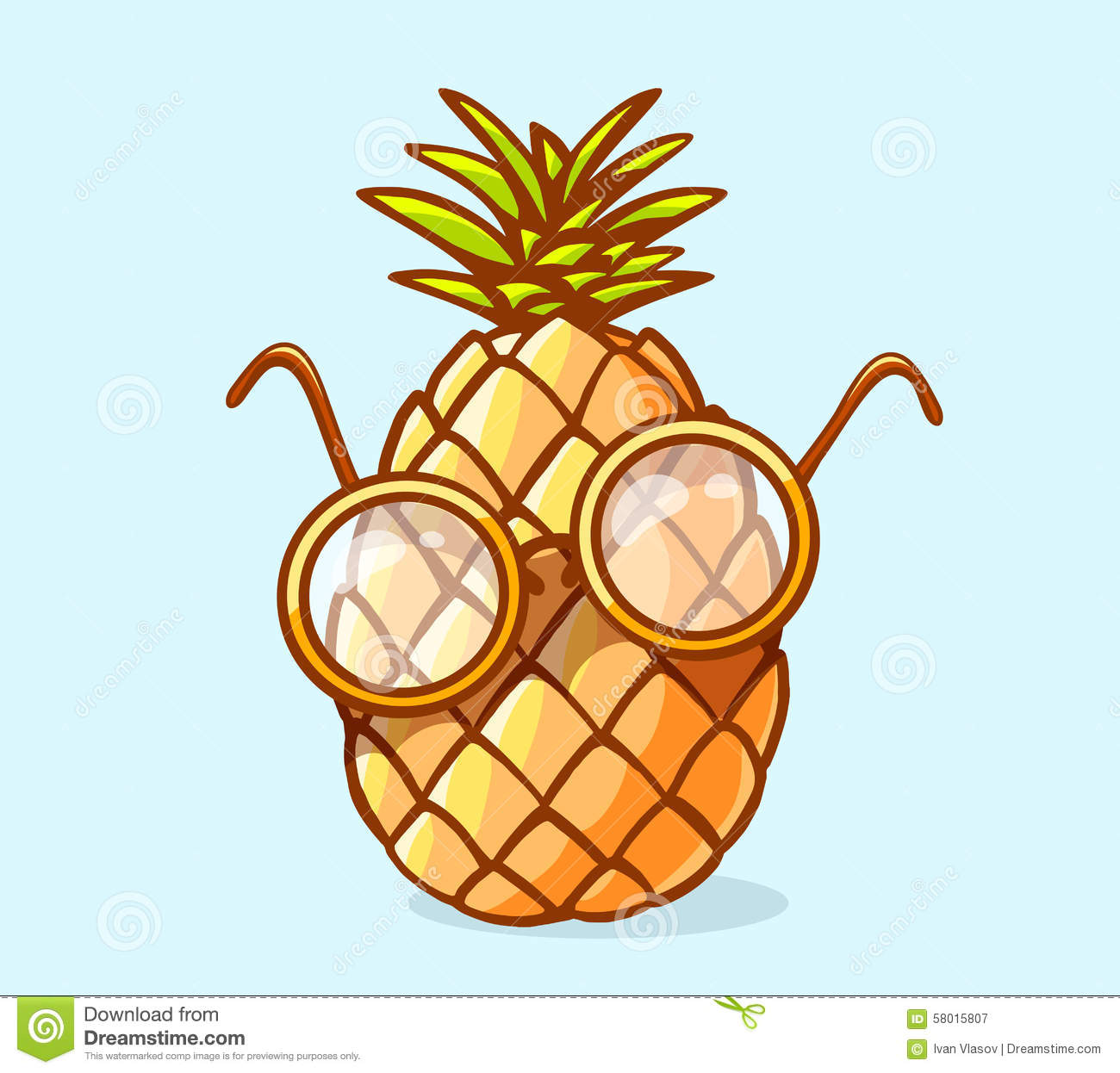 vector illustration of colorful nerd pineapple with pineapple clipart images pineapple clipart cricut