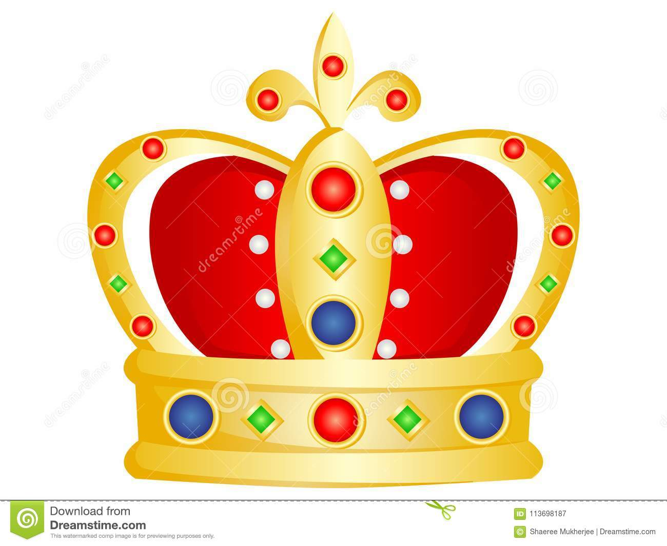 Vector Cartoon Golden Crown Stock Vector Illustration Of Colorful Stones 113698187 It premiered on may 22, 2011. https www dreamstime com vector illustration crown jewel stones gold red colors vector cartoon golden crown image113698187