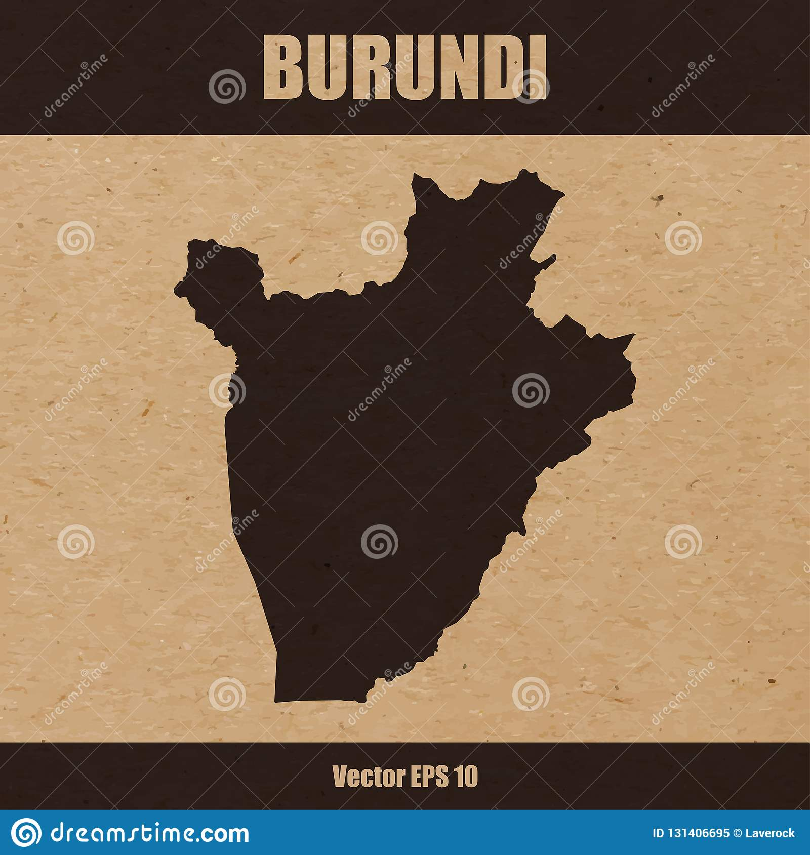 Detailed Map Of Burundi On Craft Paper Or Cardboard Background Stock on road map suriname, road map spain, road map west africa, road map southern africa, road map lebanon, road map hungary, road map martinique, road map kenya, road map anguilla, road map zimbabwe, road map bosnia and herzegovina, road map lesotho, road map cameroon, road map congo, road map ethiopia, road map italy, road map guam, road map vatican city, road map maputo, road map mali,