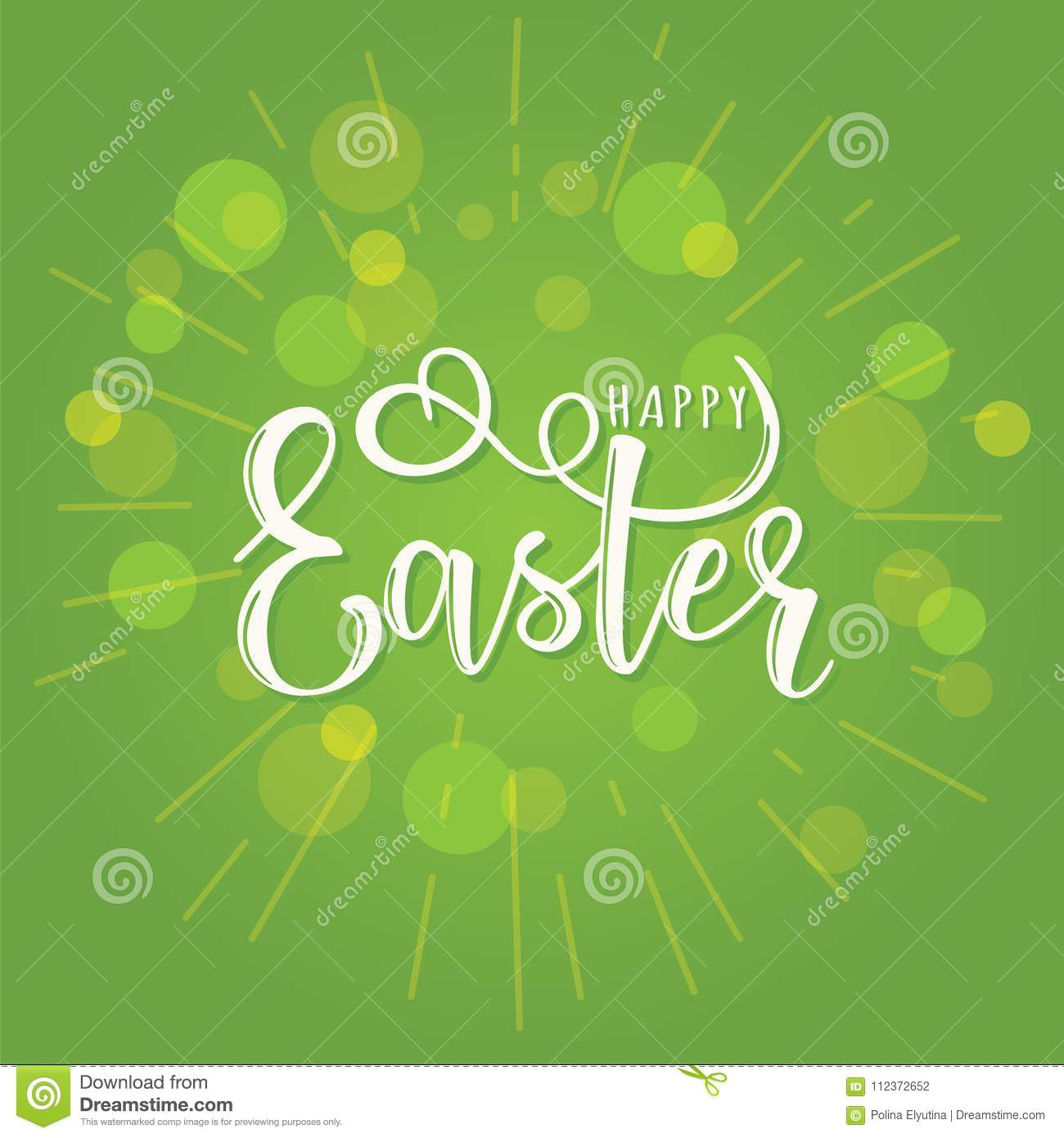 Vector illustration of easter text stock vector illustration of vector illustration of easter text creative decorative kristyandbryce Choice Image