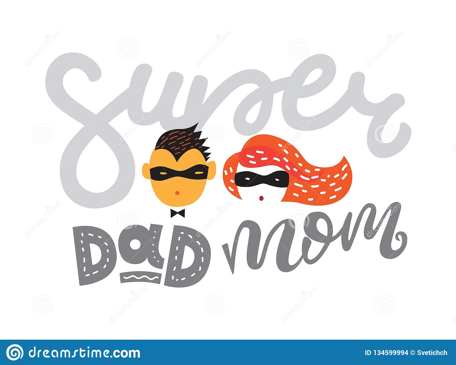 Vector Illustration For Fathers Day And Mothers Day Stock ...