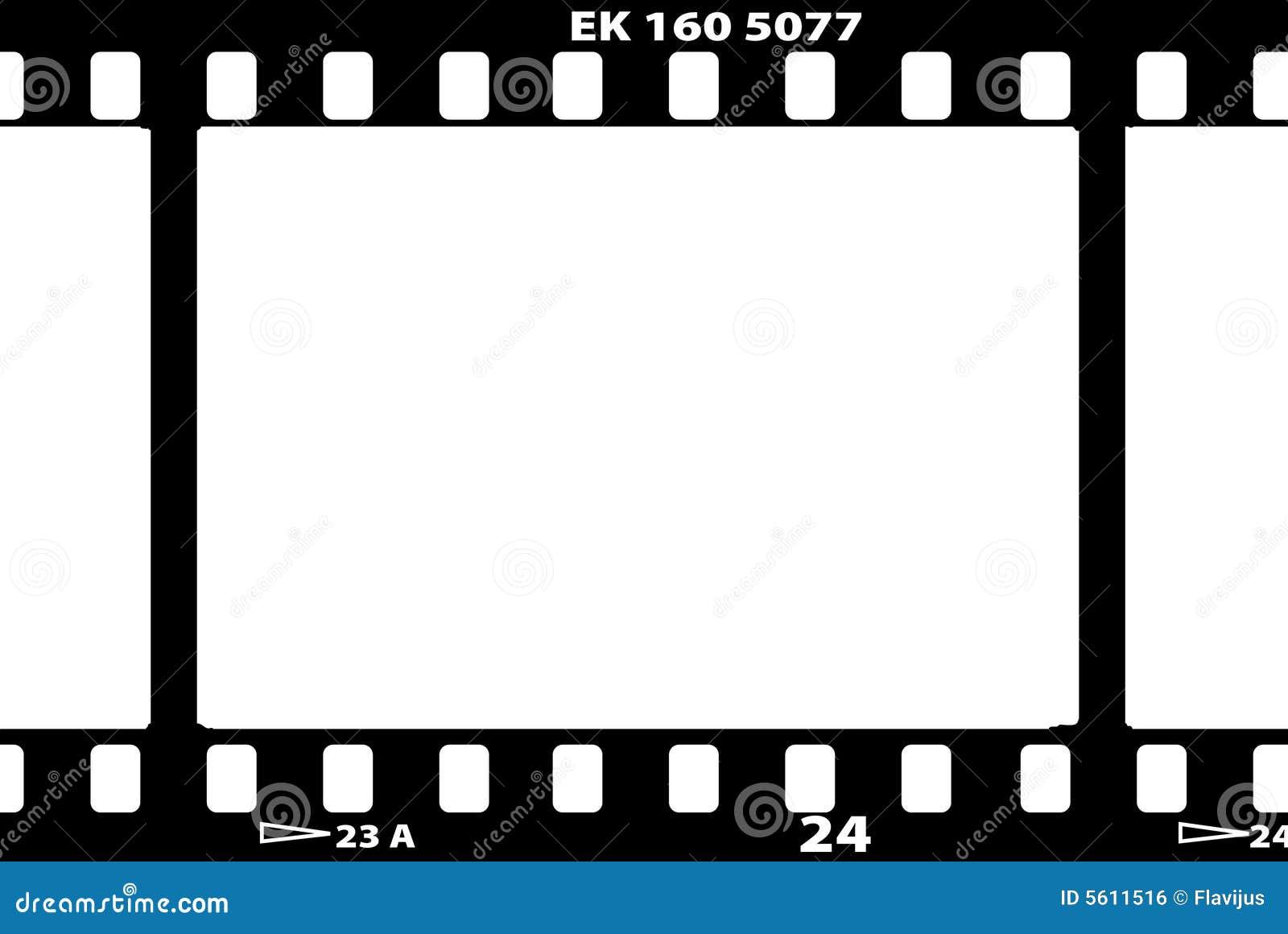 Vector Illustration Of Film Strip Stock Vector Image
