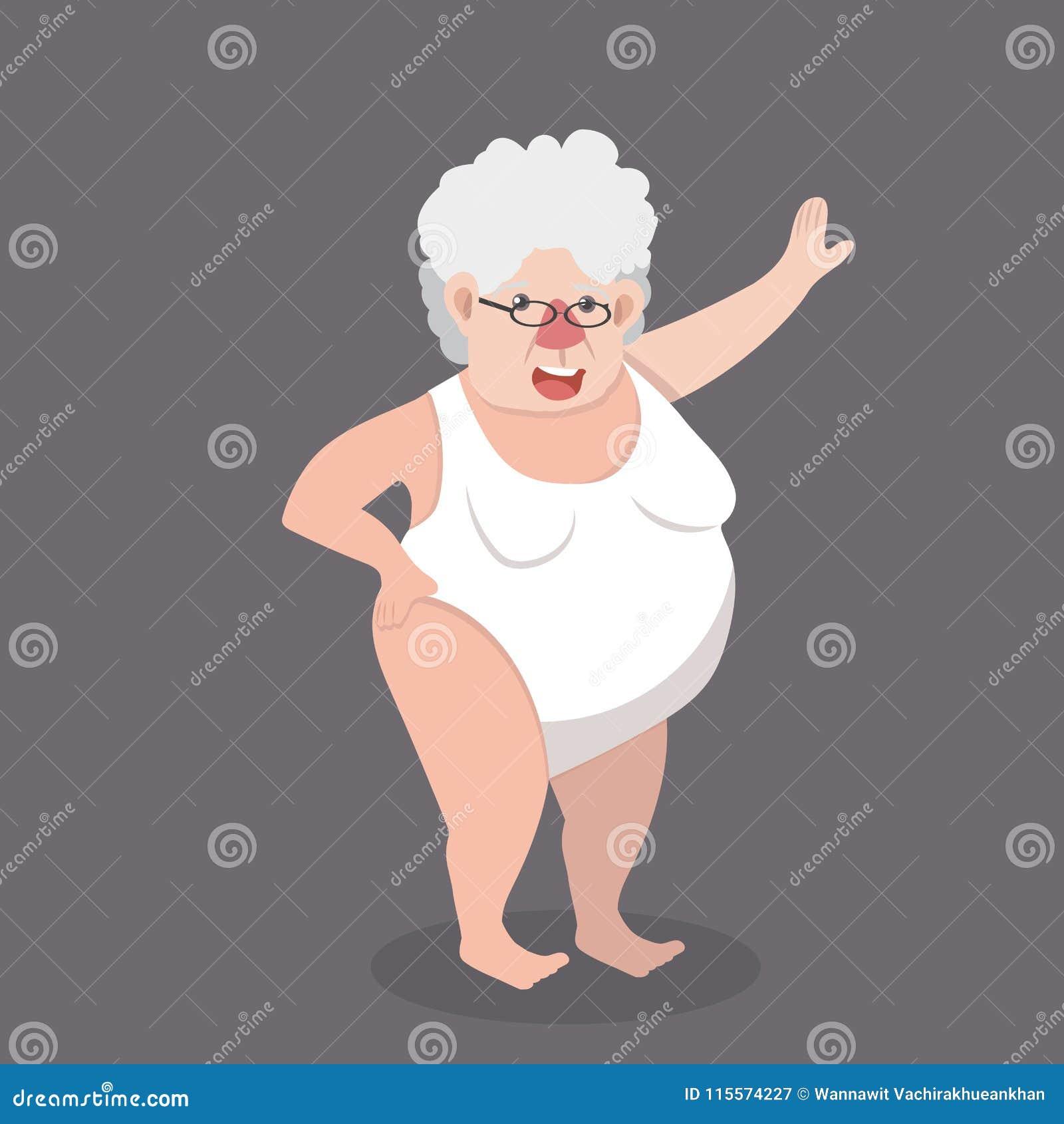 Lady sexy old Mormon women