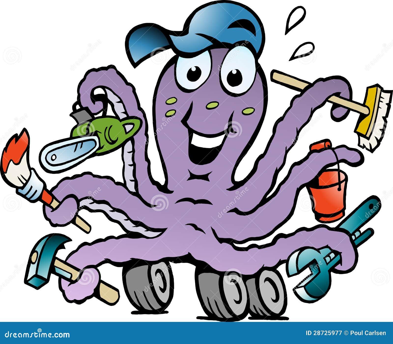 Cheerful Octopus 78