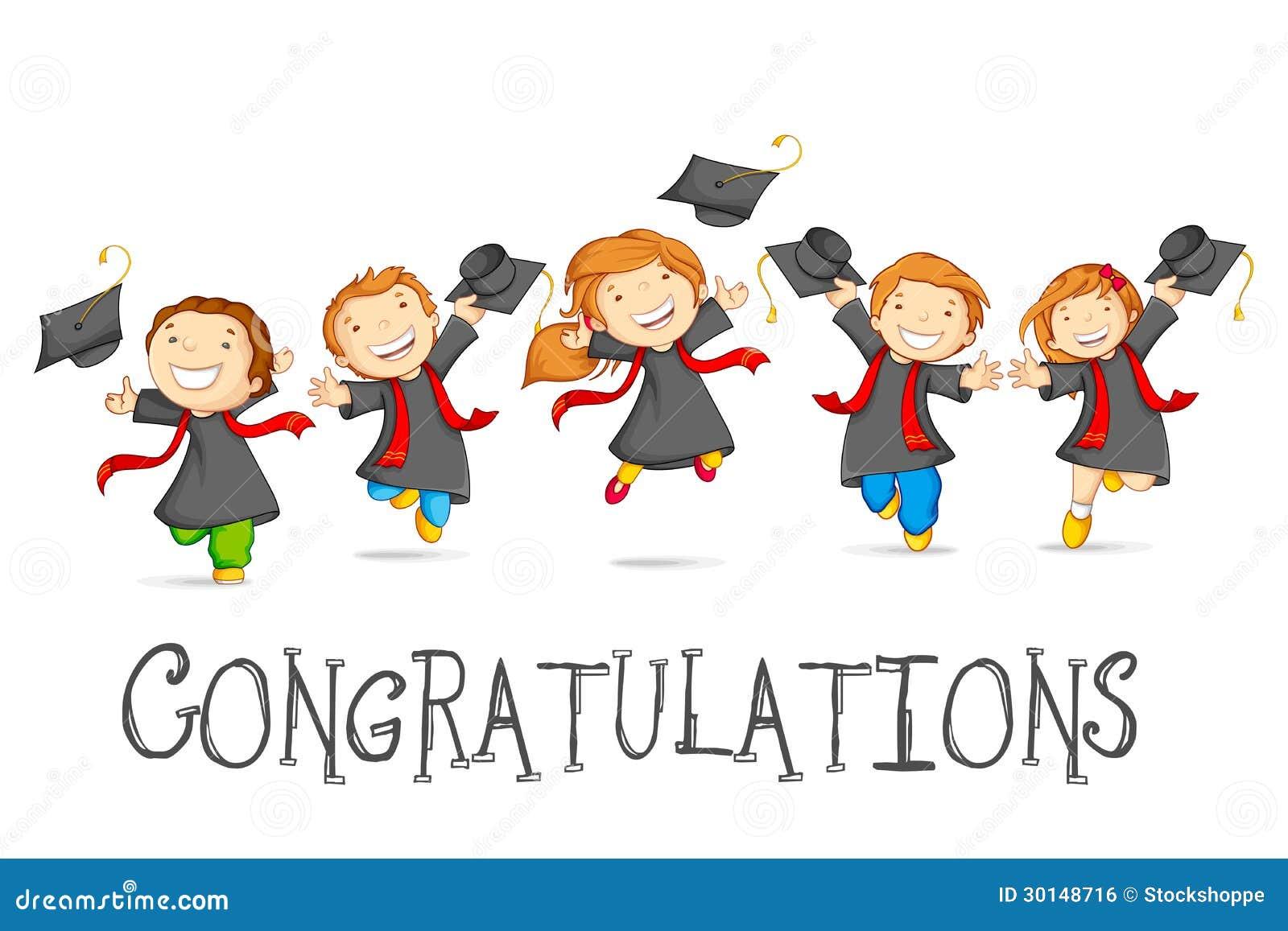 Happy Graduates Royalty Free Kindergarten Graduation Background