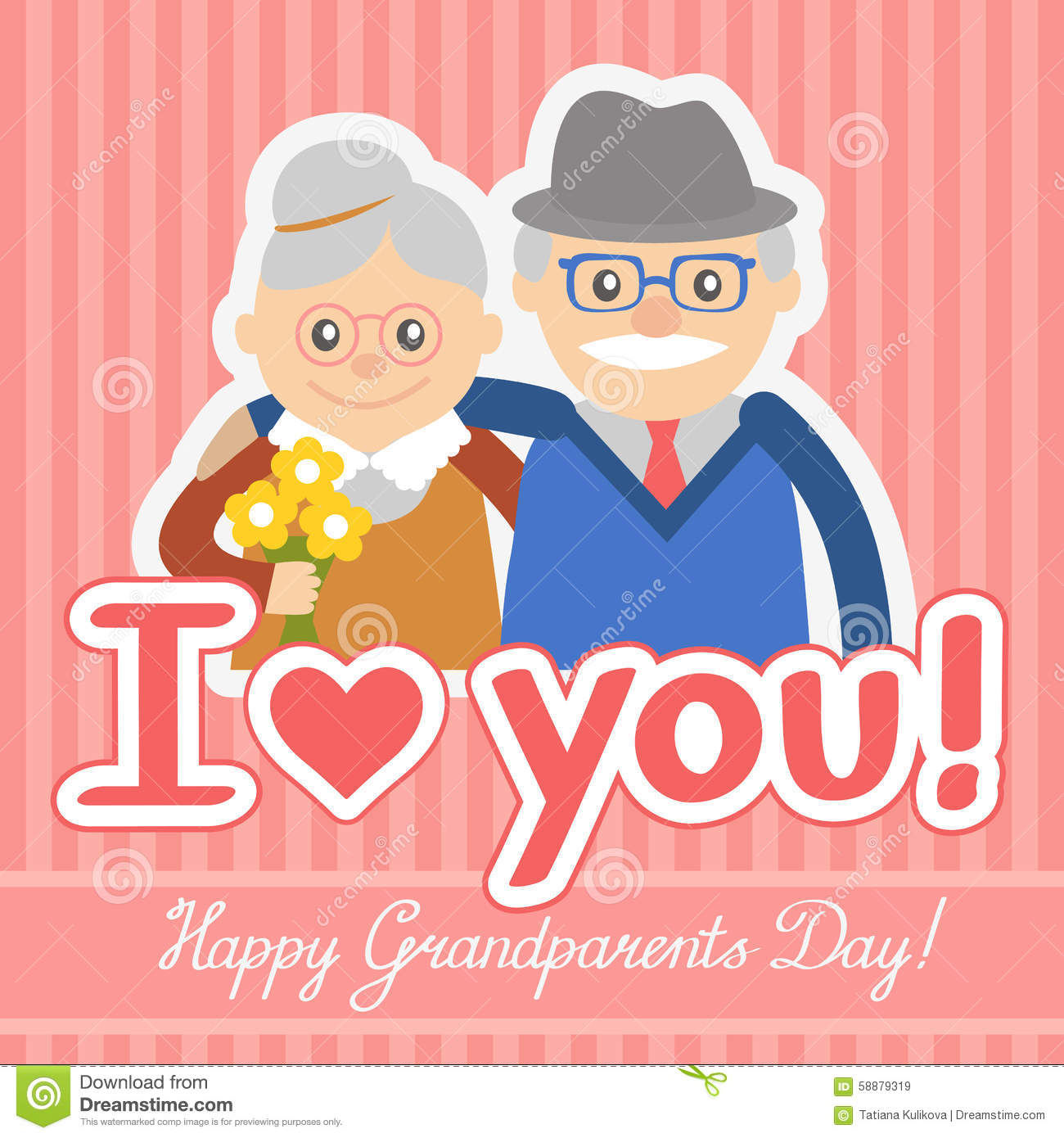 Fashion week Grandparents Happy day for girls