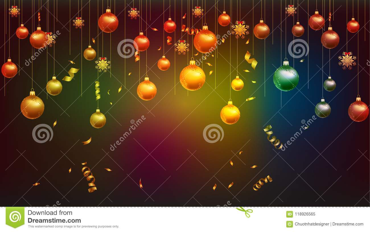 vector illustration of happy new year 2019 wallpaper gold and black colors place for text christmas