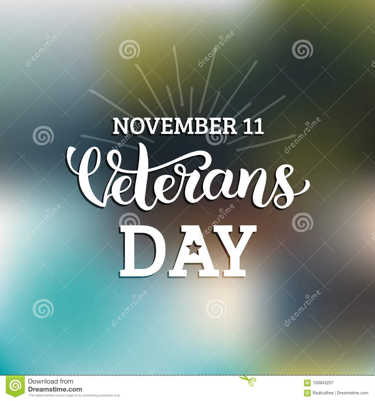 Vector illustration with happy veterans day lettering november 11 download vector illustration with happy veterans day lettering november 11 holiday background celebration poster m4hsunfo