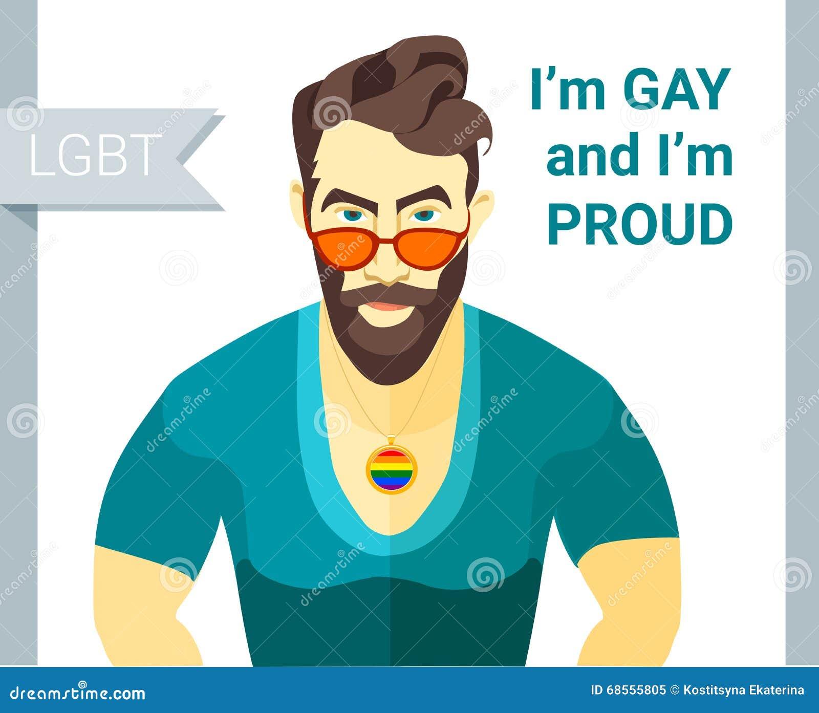 gay pride illustration