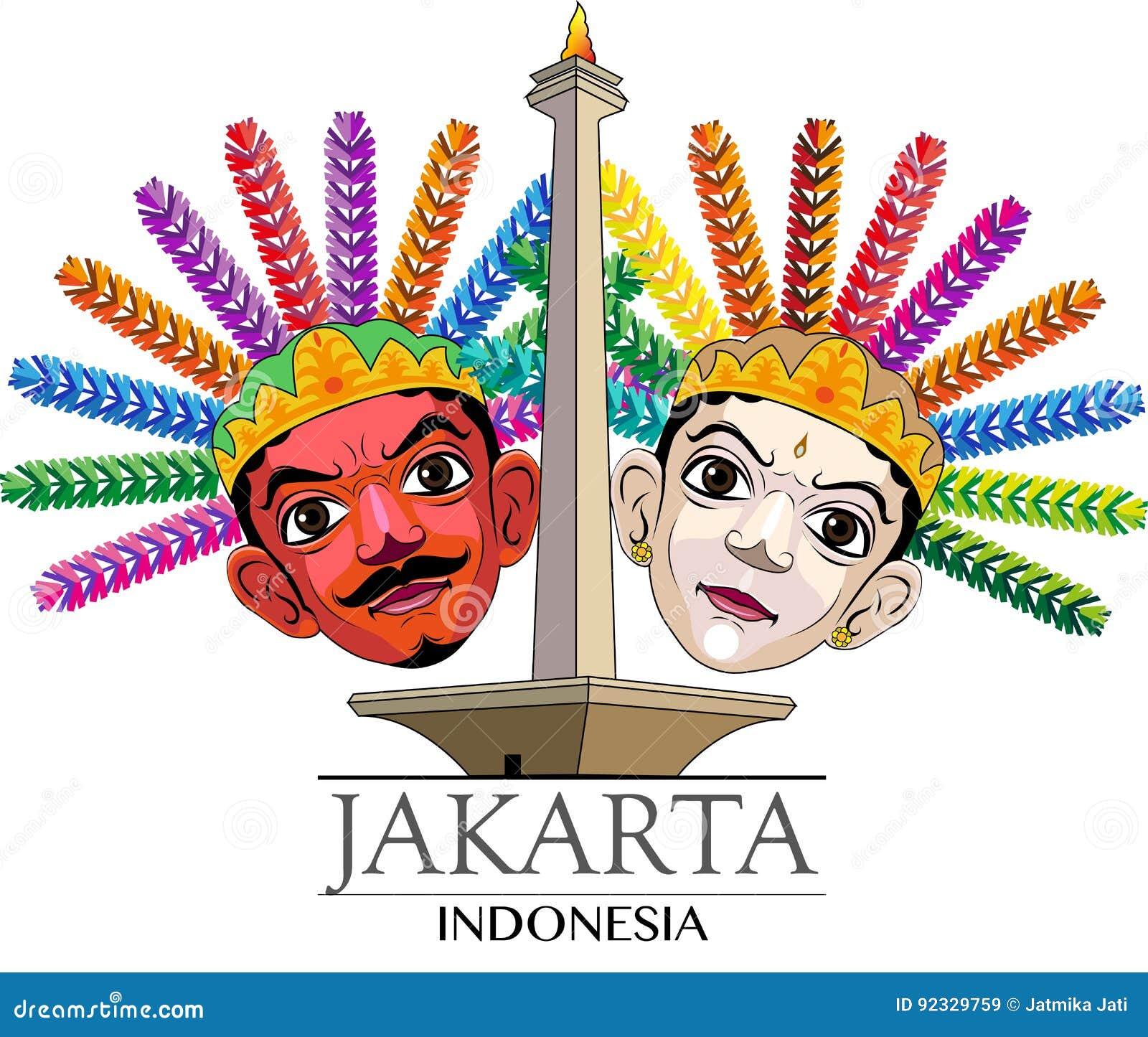 City Jakarta Stock Illustrations 538 City Jakarta Stock