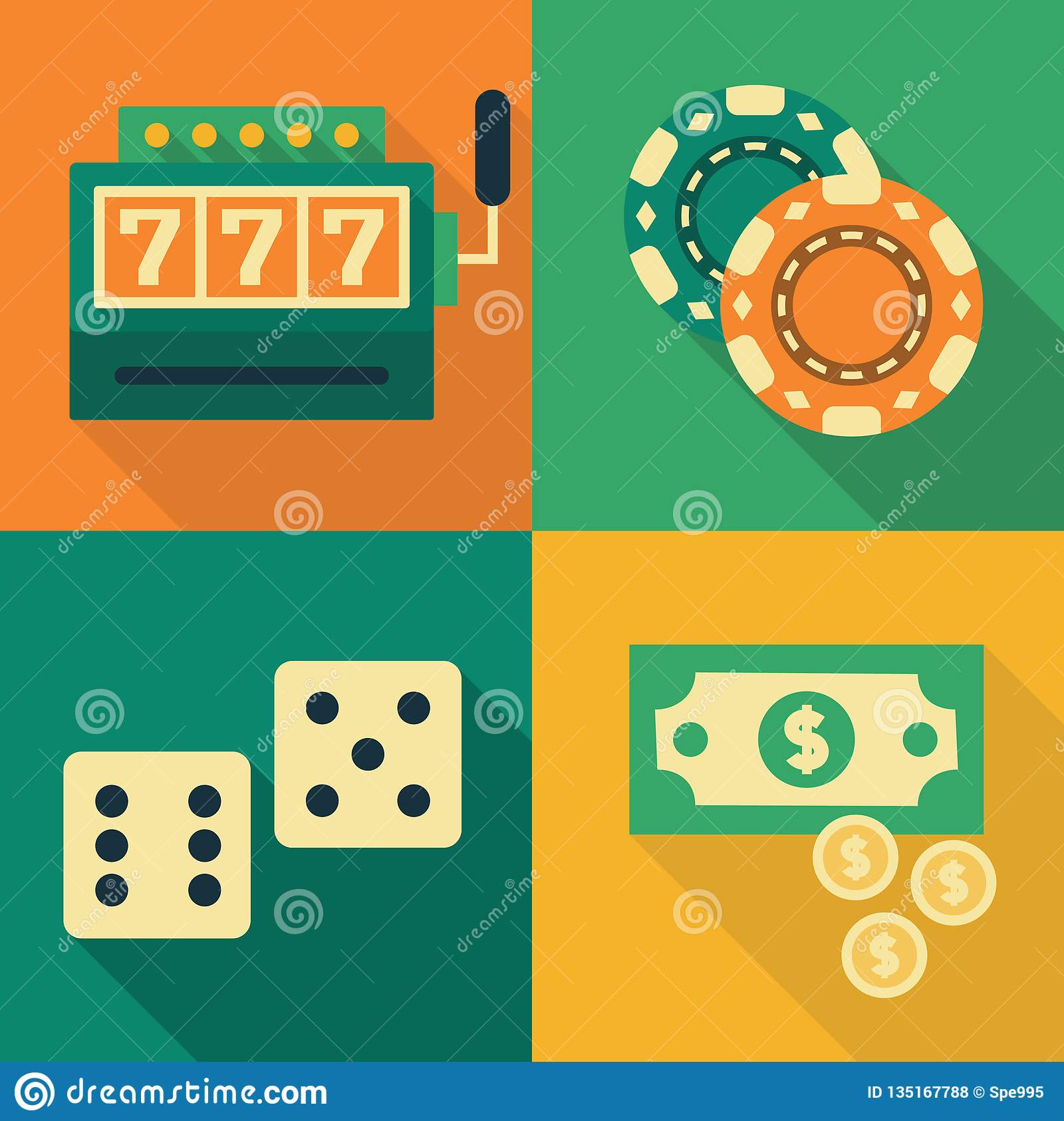 Slot Machine Money Symbol