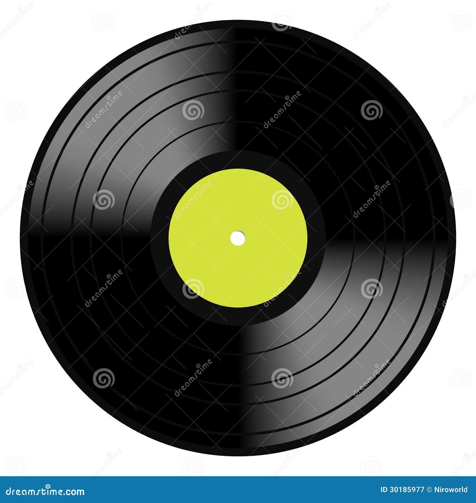 Lp Vinyl Disc Vintage Record Royalty Free Stock