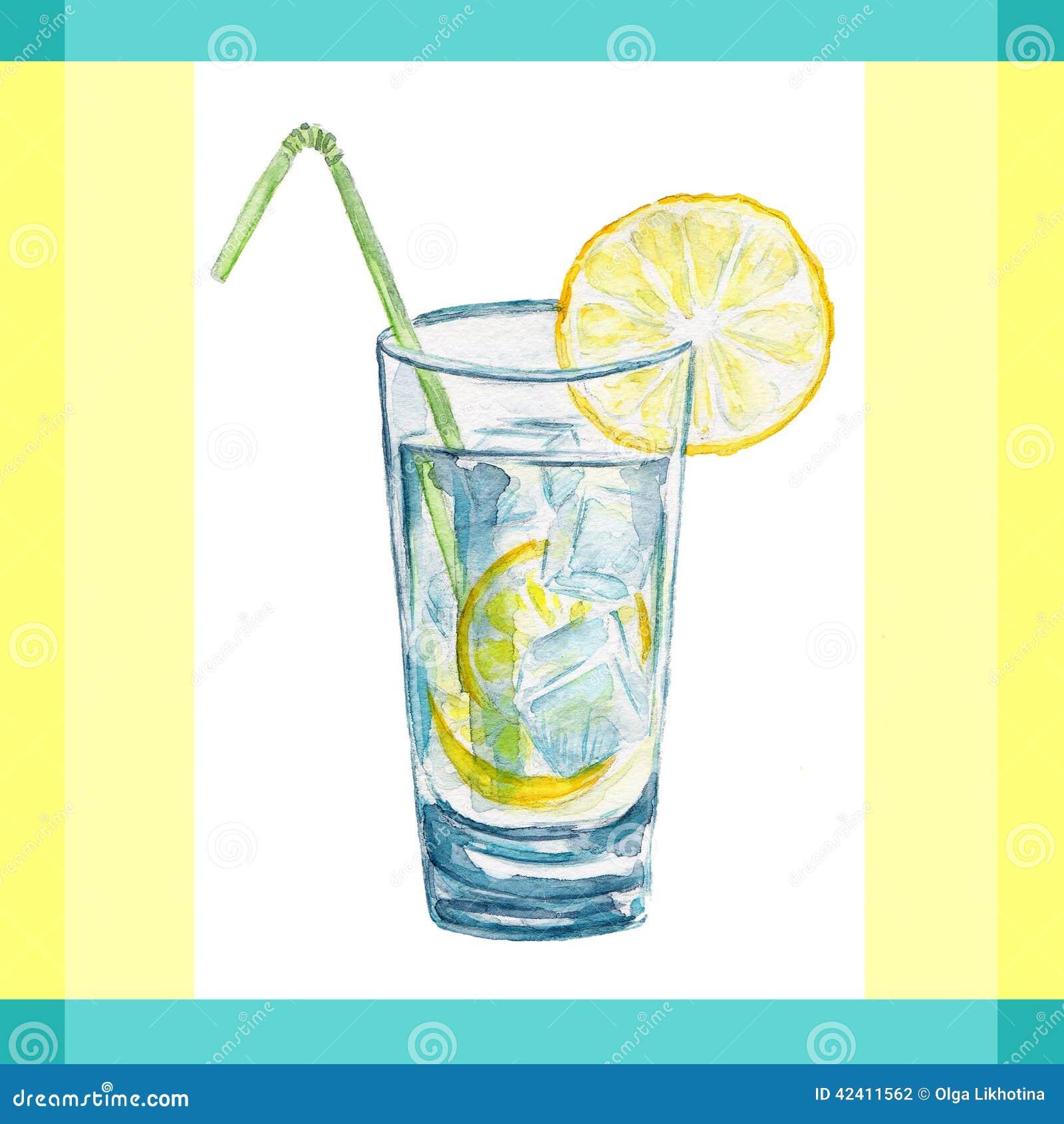 vector illustration lemonade flat vintage label stock vector