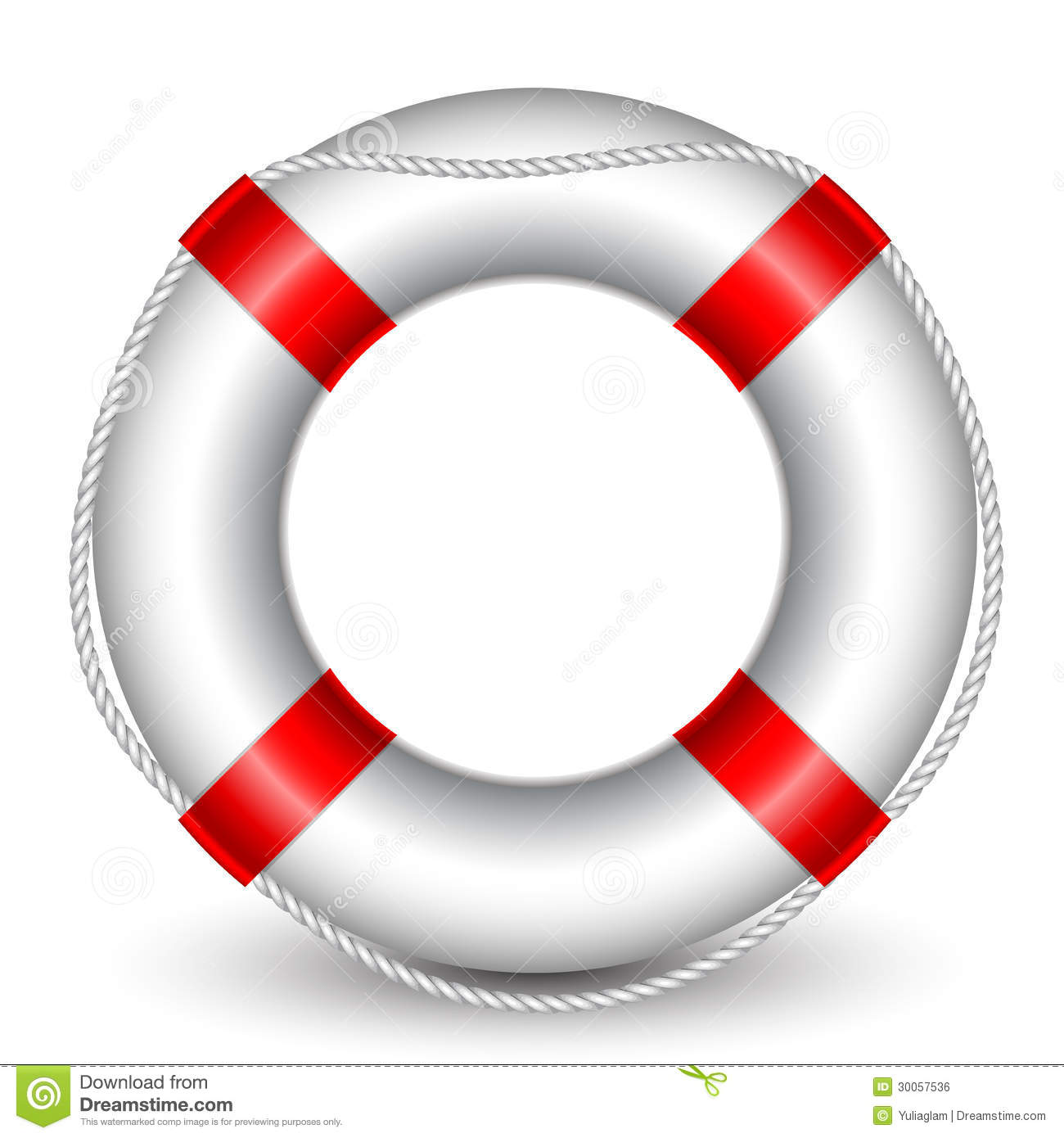 Life Buoy Royalty Free Stock Image - Image: 30057536