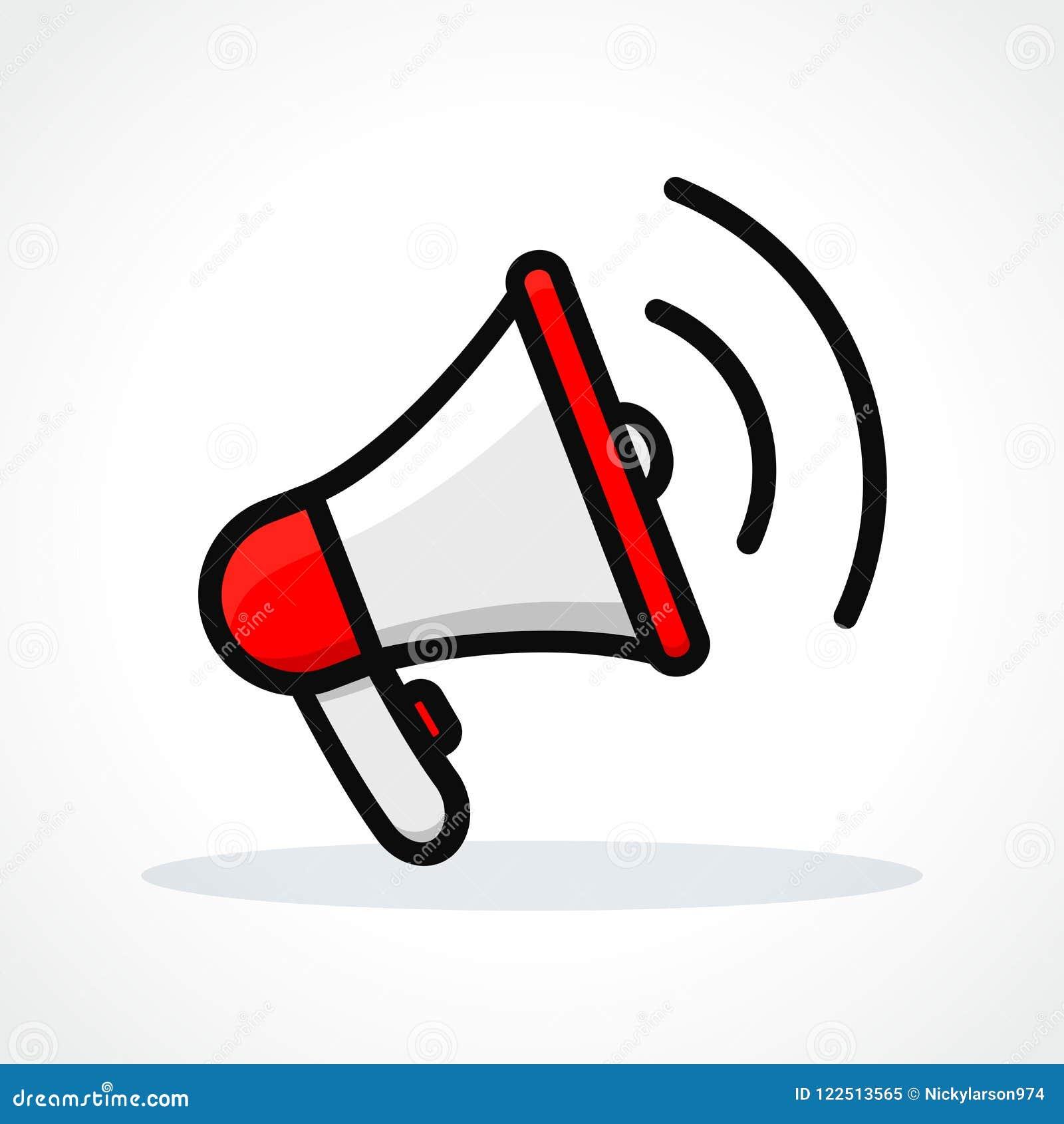 vector loudspeaker icon design stock vector illustration of icon speaker 122513565 https www dreamstime com vector illustration loudspeaker white background vector loudspeaker icon design image122513565
