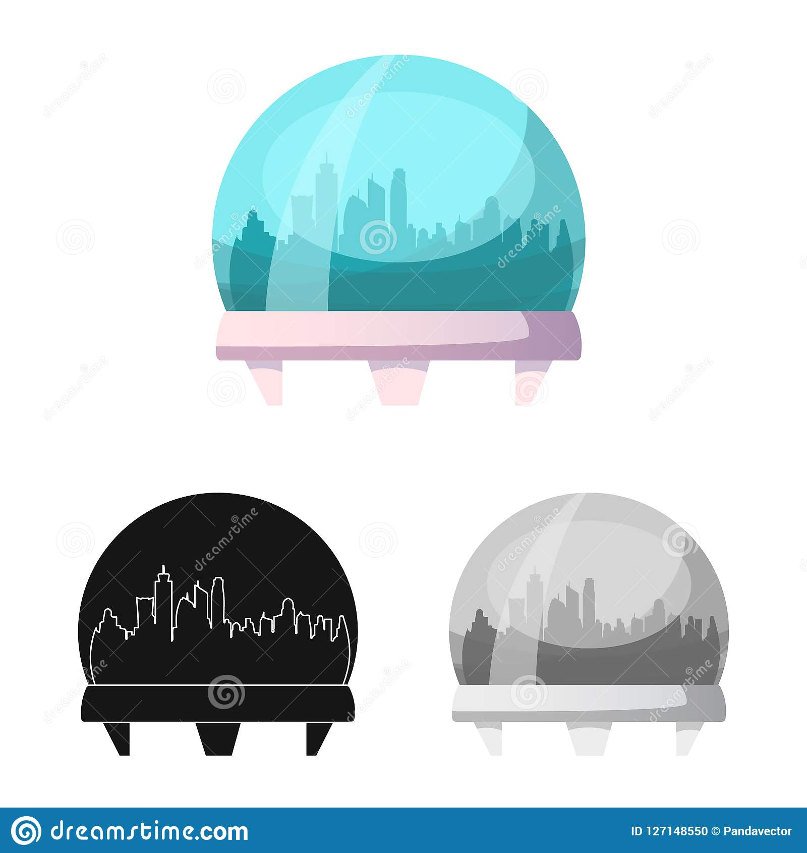 Vector Illustration Of Mars And Space Symbol Set Of Mars And Planet