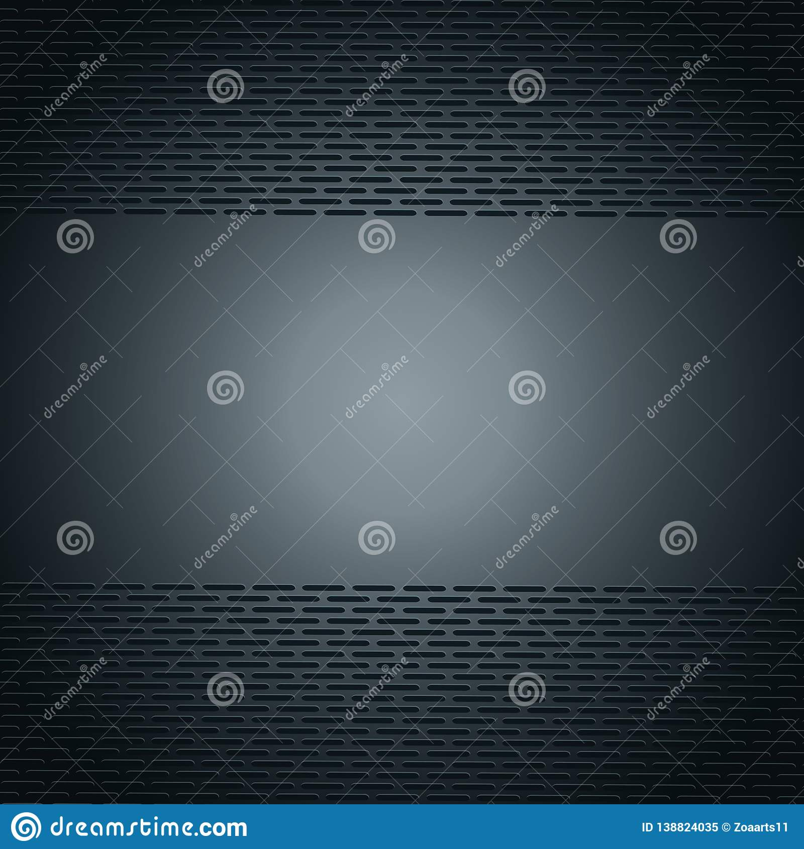 Vector illustration cool metallic stainless steel wallpaper - abstract black metal grid geometric polygons background