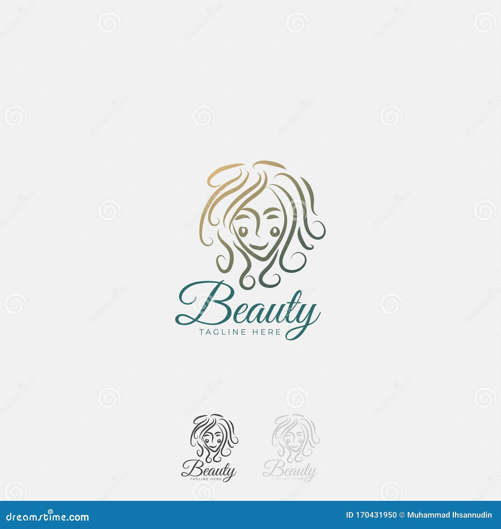 Luxury,simple And Elegant Monochrome Monogram Vector