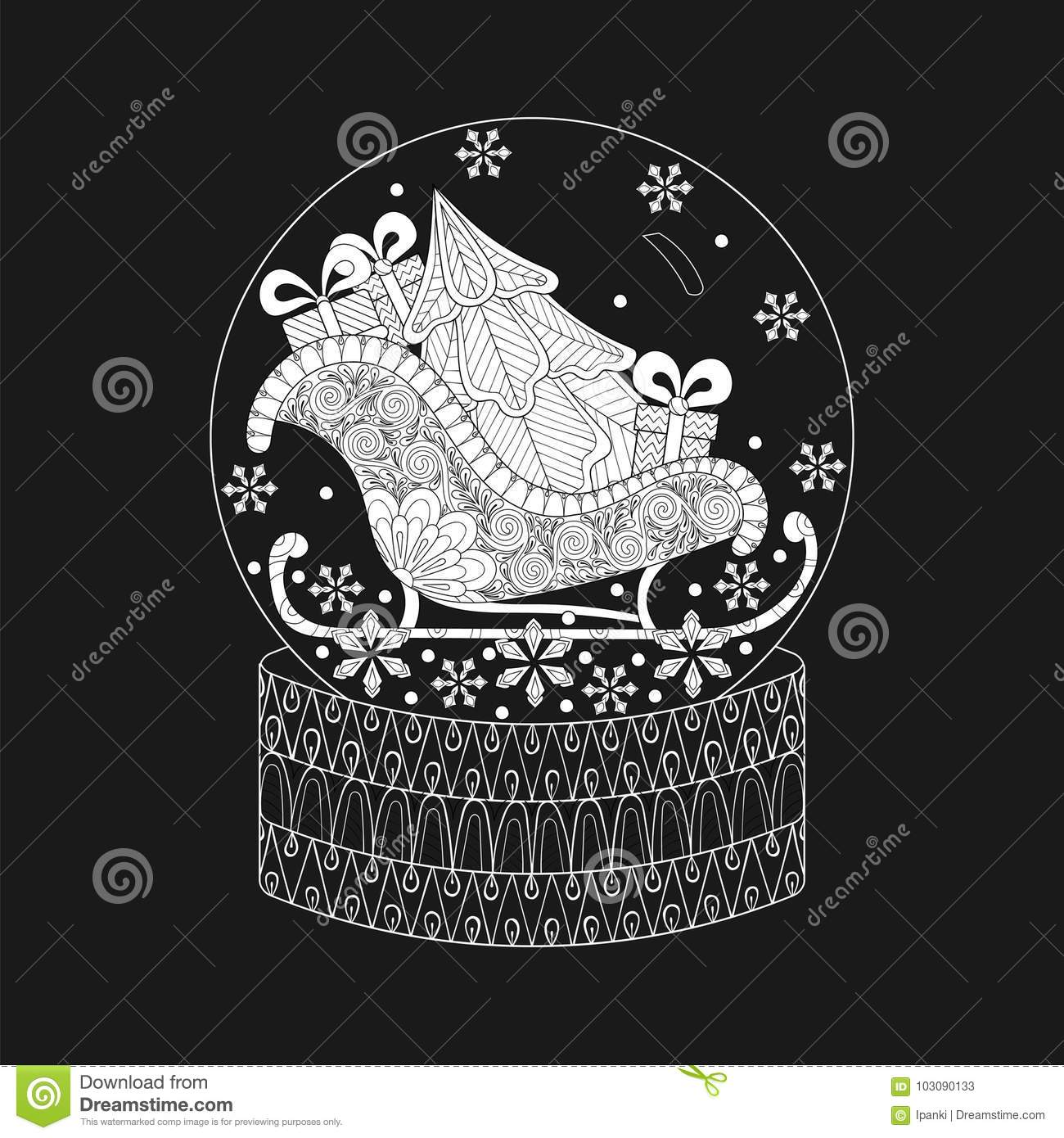 Vector Illustration For New Year 2018 Posters And Greeting Cards ...
