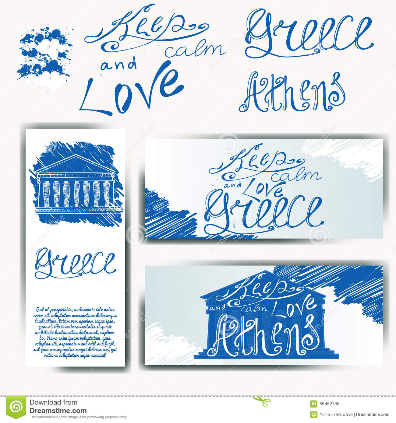 Creative Typographic Poster With The Lettering Vector ...