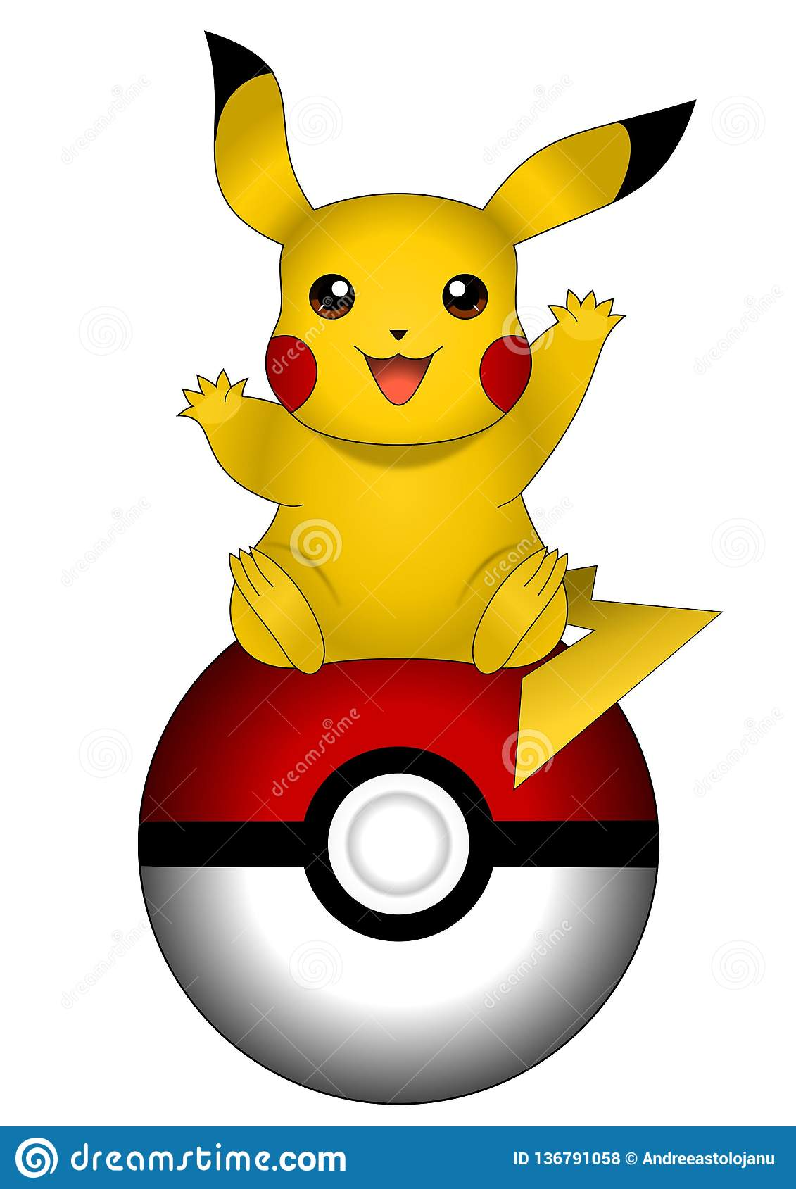 Pikachu cartoons illustrations vector stock images 42 pictures to download from - Image pikachu ...