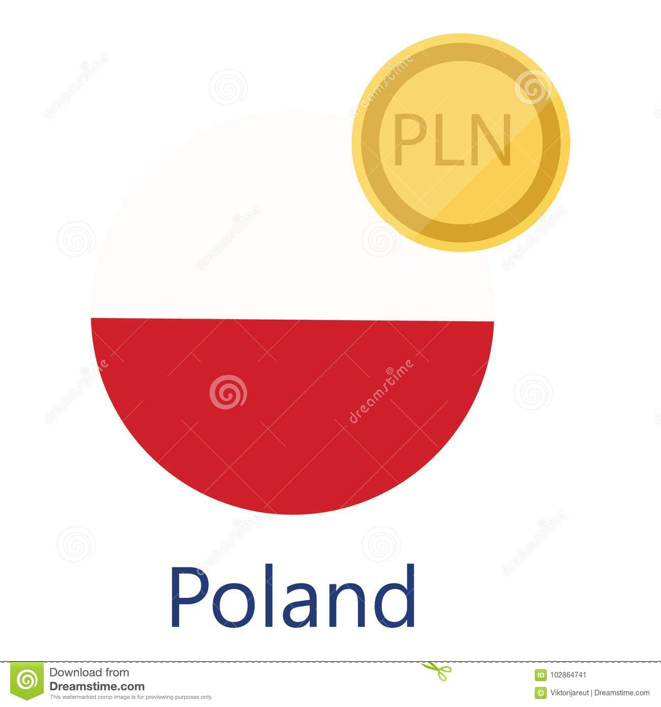 Poland Currency Stock Illustrations 220 Poland Currency Stock