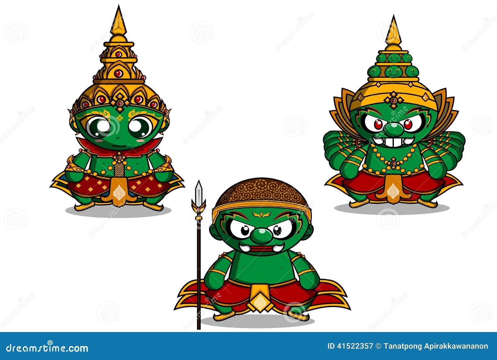 Vector Illustration Ramayana Stock Vector Image 41522357