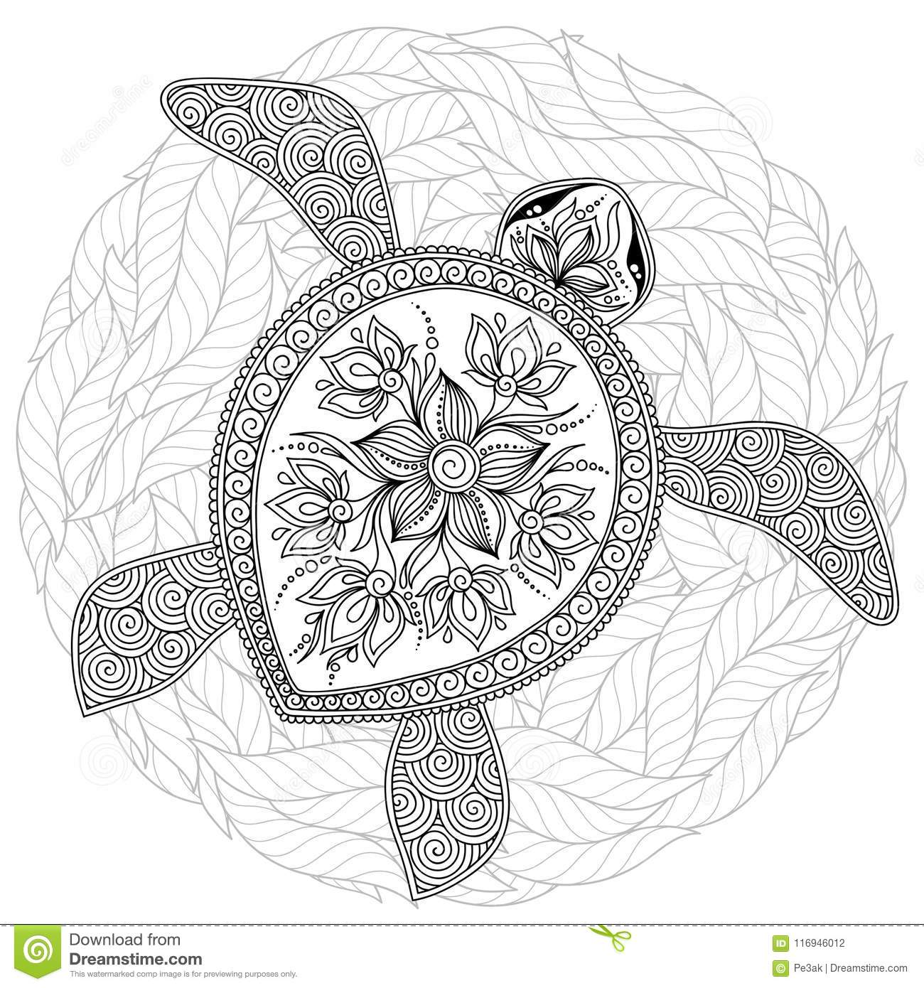 Free Printable Turtle Coloring Pages For Kids | Turtle coloring ... | 1390x1300