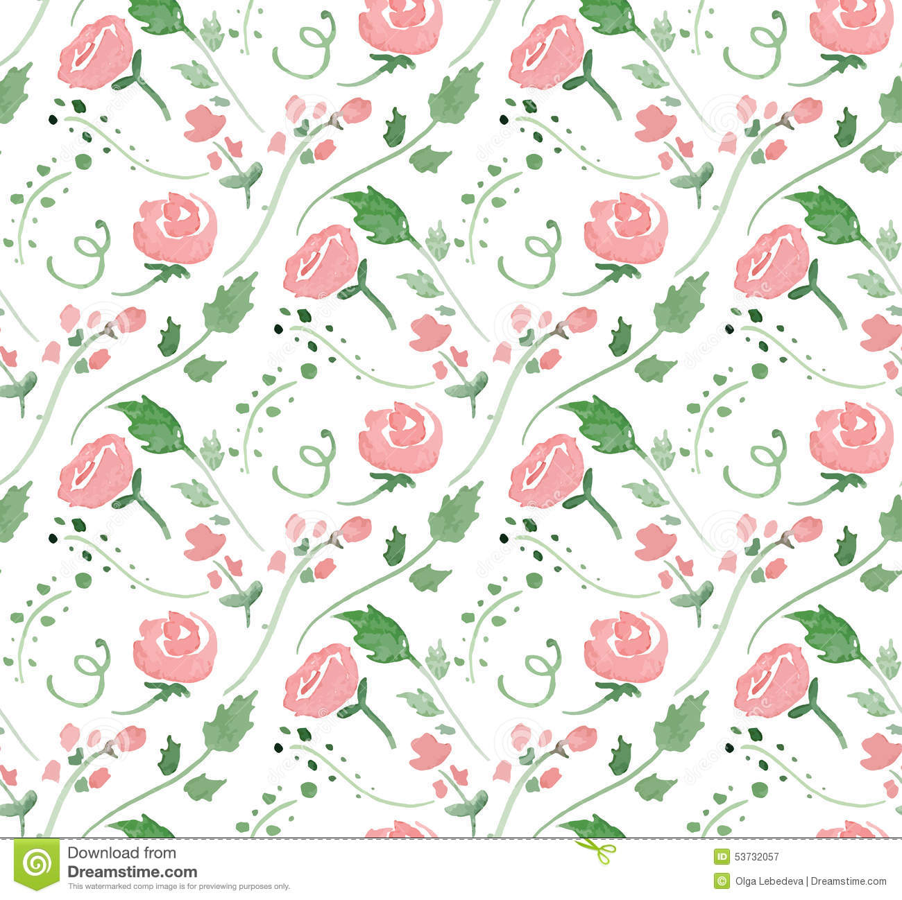 Vector Illustration - Seamless Pattern With Stock Vector ...