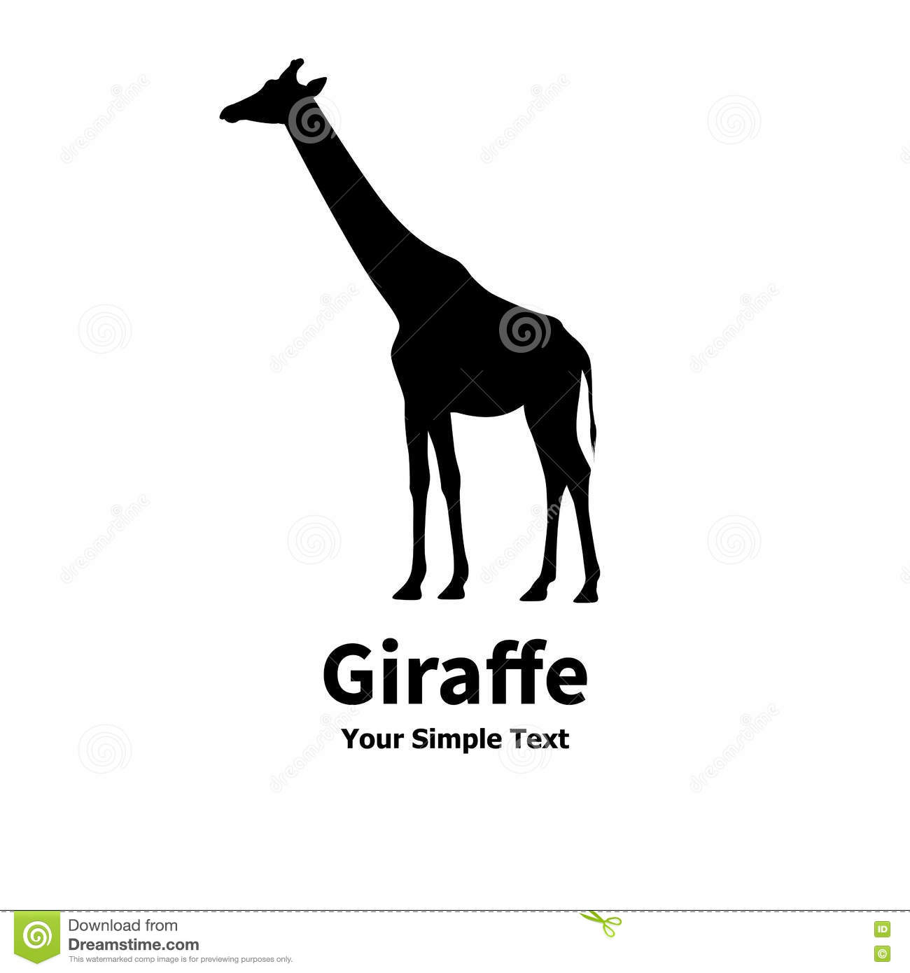 Giraffe Profile Silhouette | galleryhip.com - The Hippest ... People Side Profile