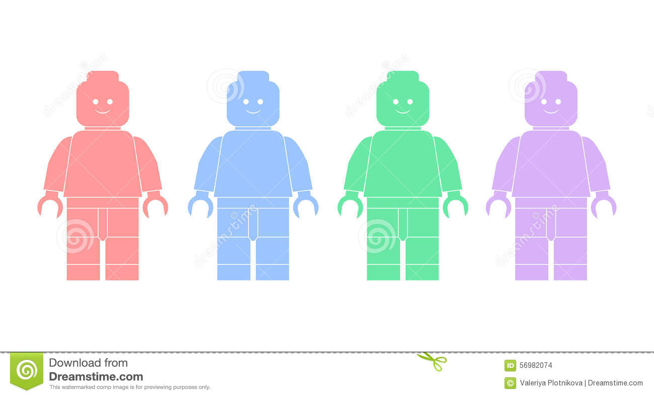 lego man vector - photo #21