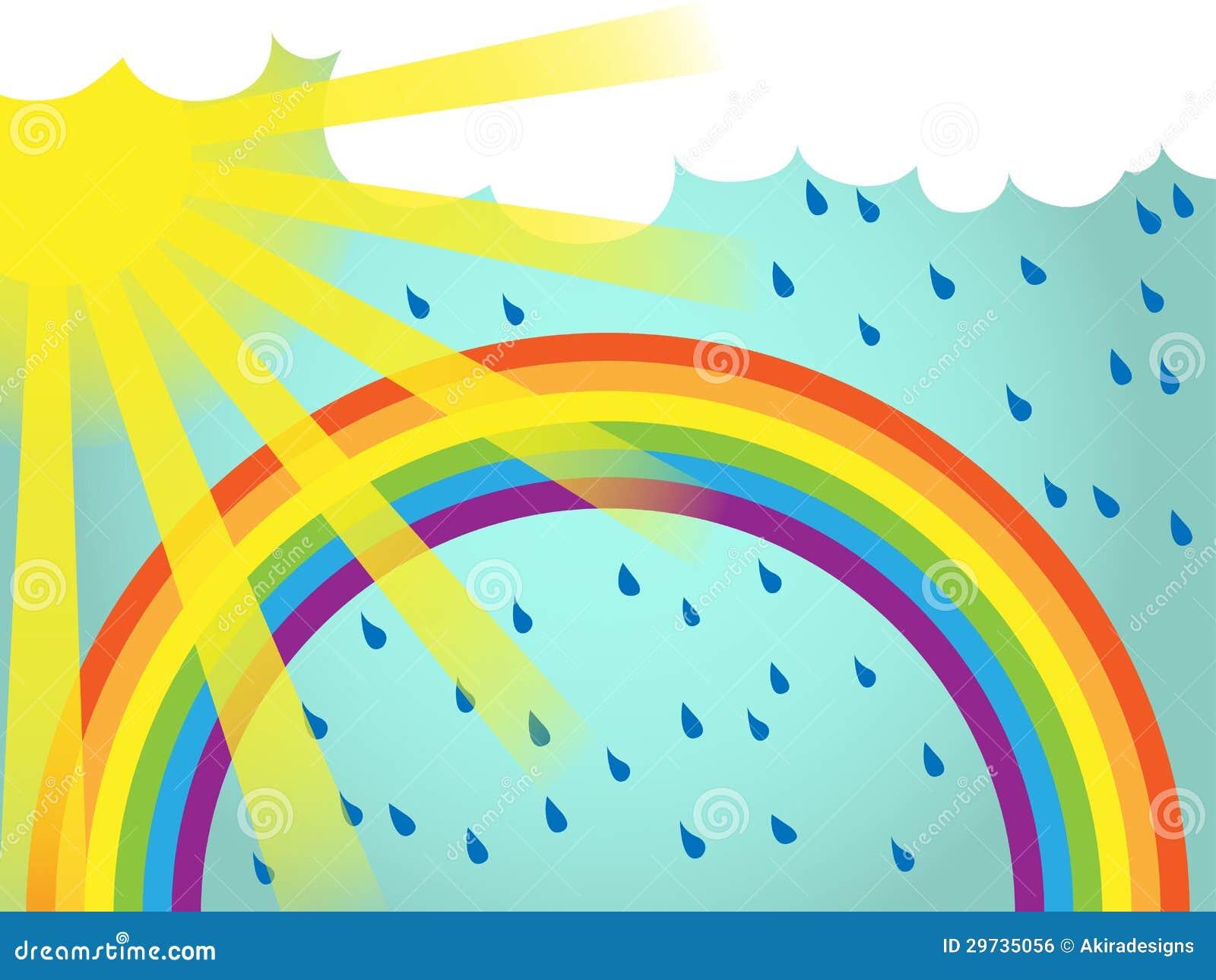 Simple Rainbow Template Photo Image 5544130 – Rainbow Template