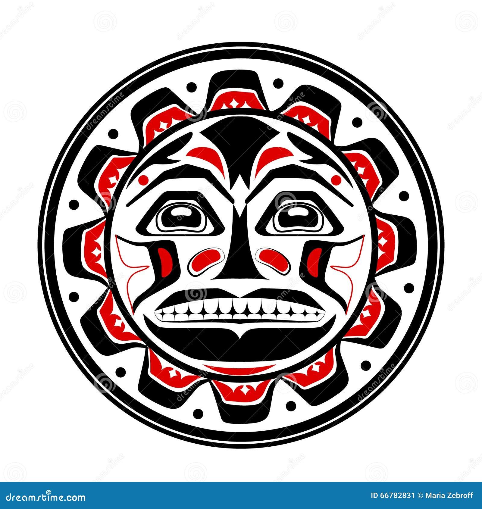 Vector Illustration Of The Sun Symbol Stock Vector Illustration Of