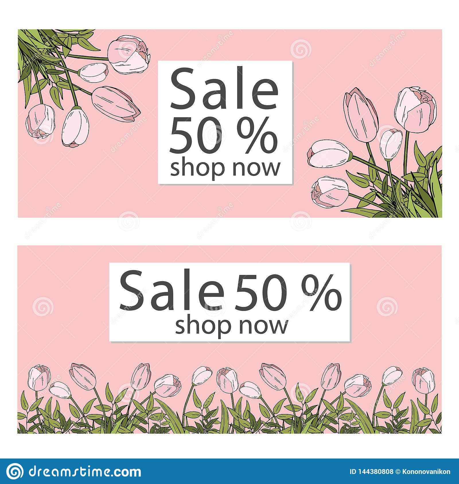 Vector illustration template. sale banners collection for social media banners, web design, shopping on-line, posters, email and