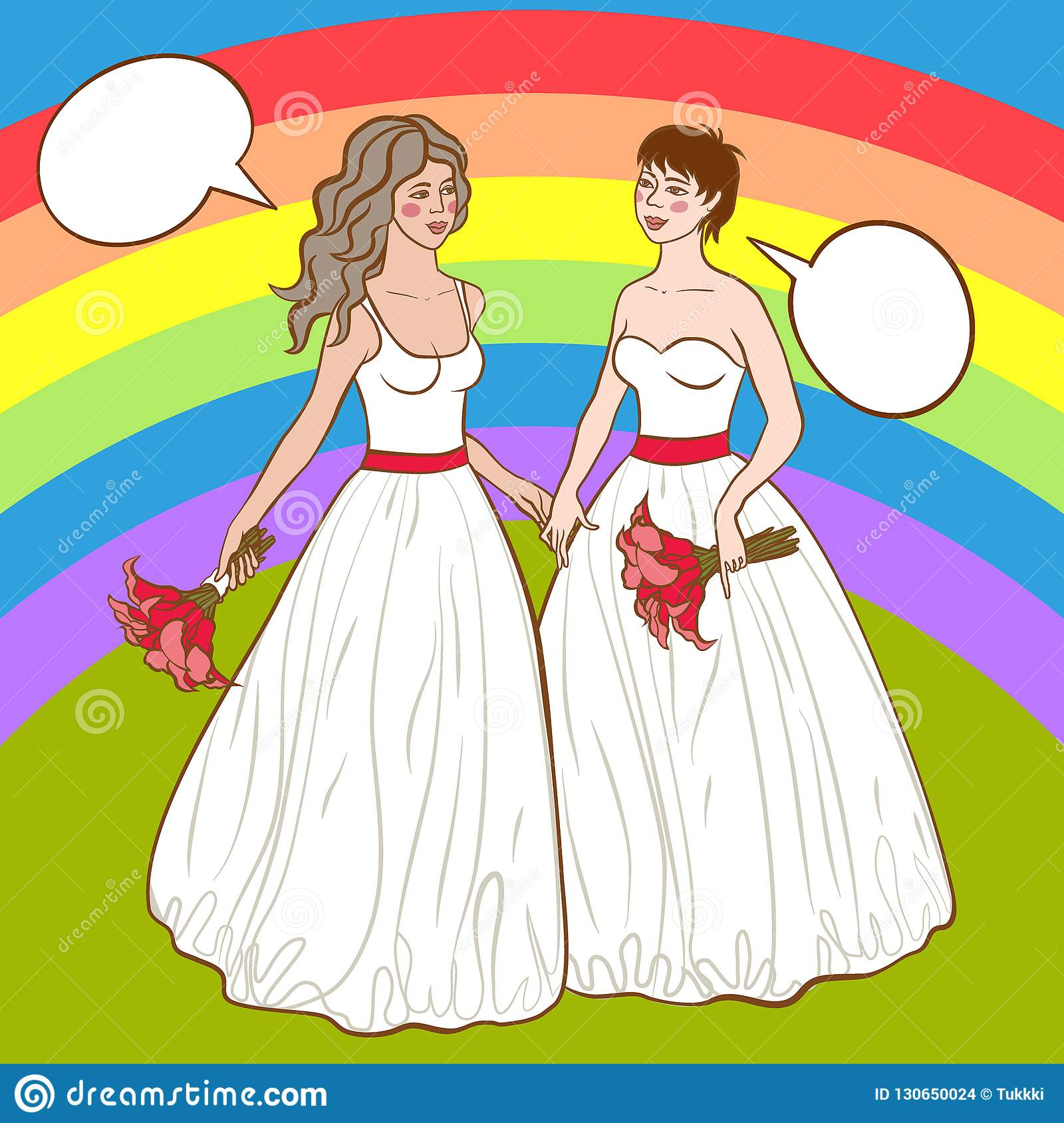 Gay Women Wedding Dress