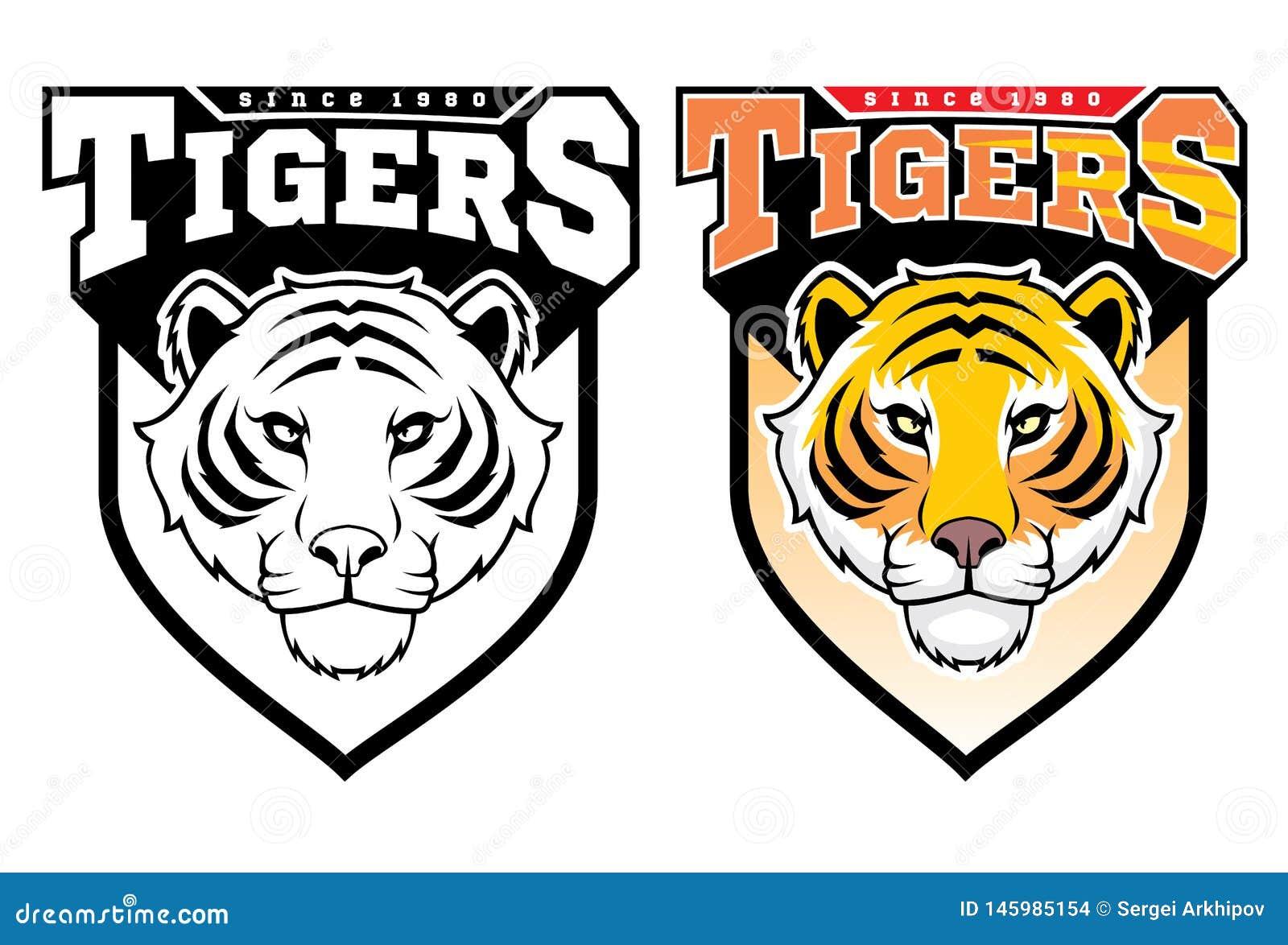 d53c35edd Mascot Tigers. stock vector. Illustration of baseball - 145985154