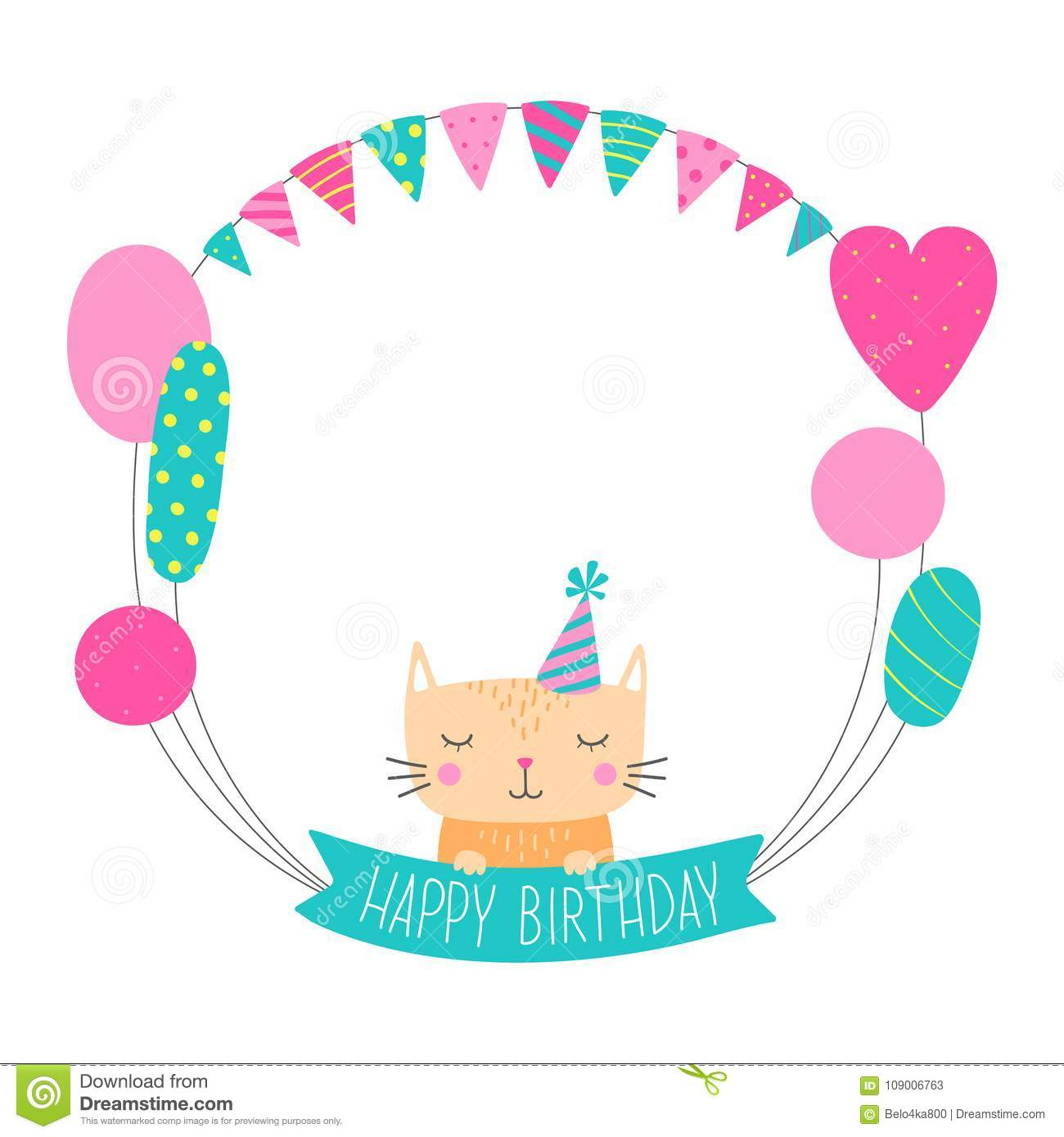 Birthday Greeting Vector Free Download Real Clipart And Vector