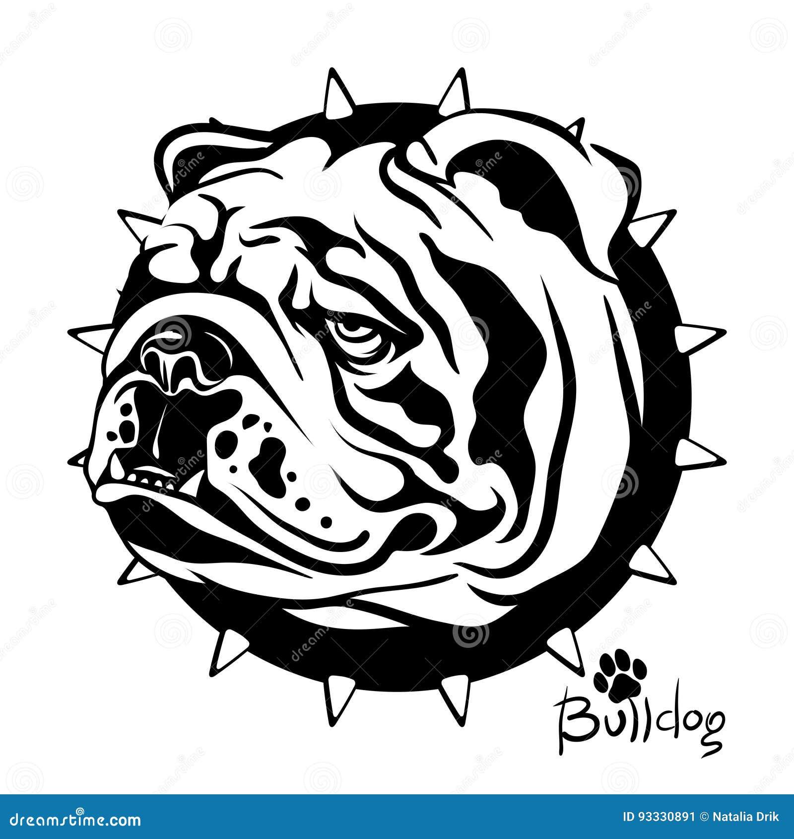 Vector Illustration Zeichnen Eines Hundes Der Zucht Englisch